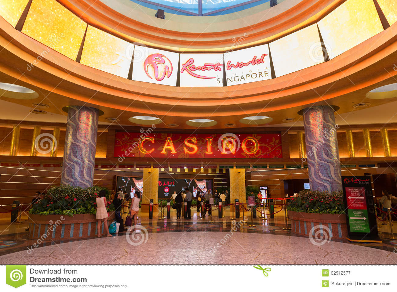 Resort world sentosa casino location