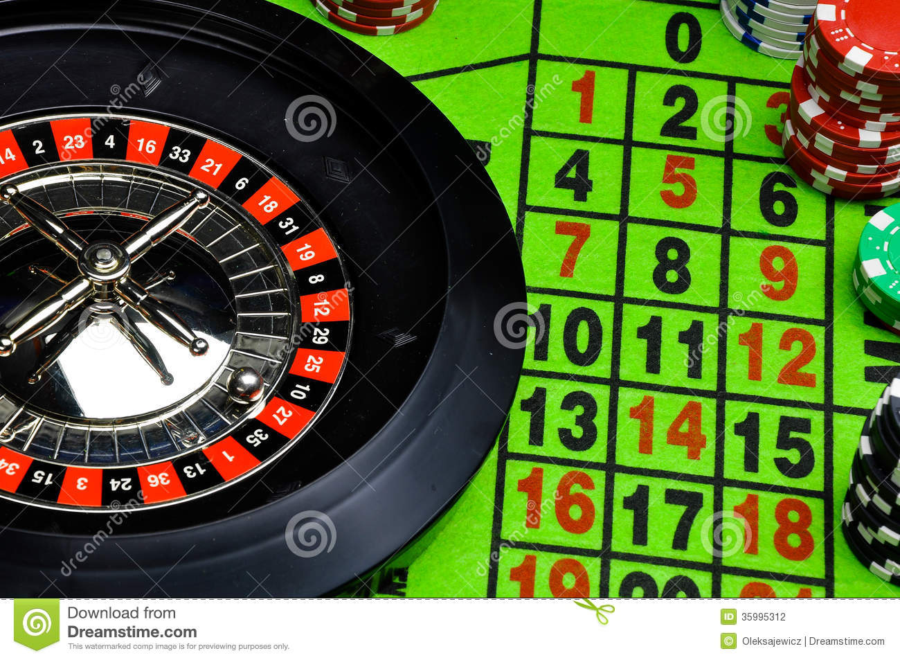 Playing Roulette At Casino