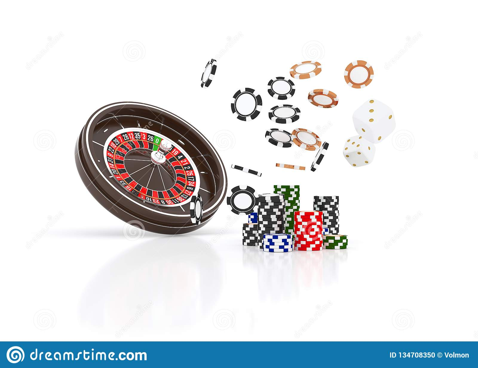 Casino Roulette Wheel Chips Isolated On White Casino Game 3d Chips Online Casino Banner Black Realistic Chip Stock Illustration Illustration Of Background Number 134708350