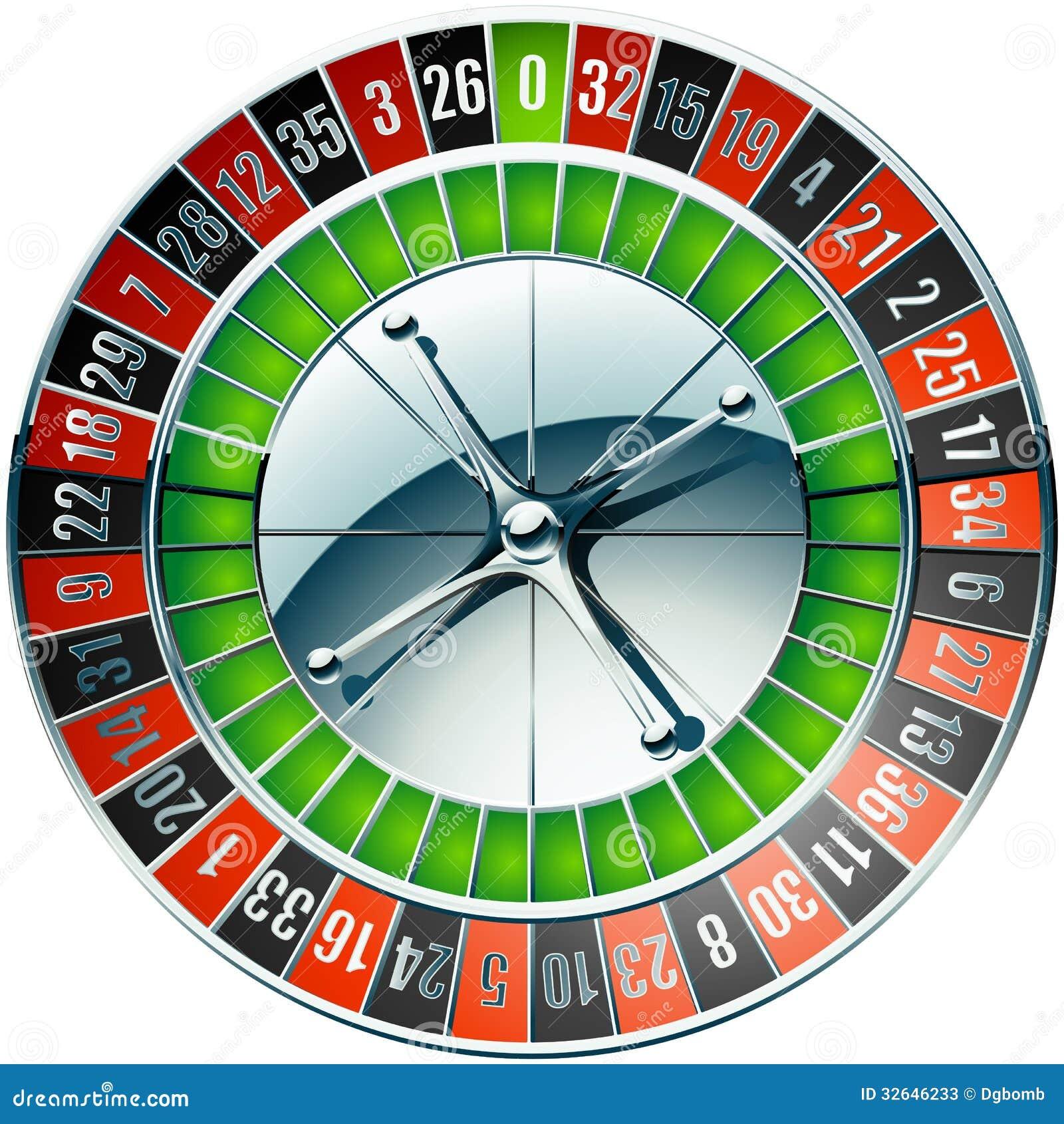 Clip Art Roulette Gambling