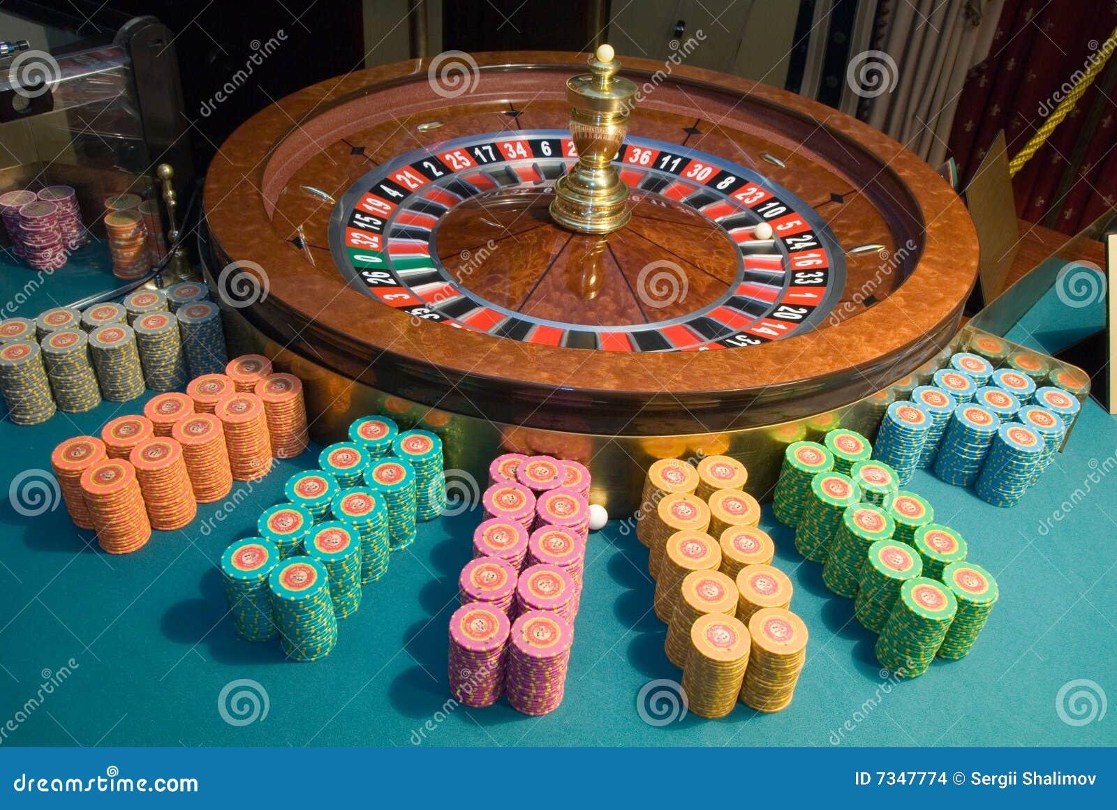Roulette Chips Bedrucken