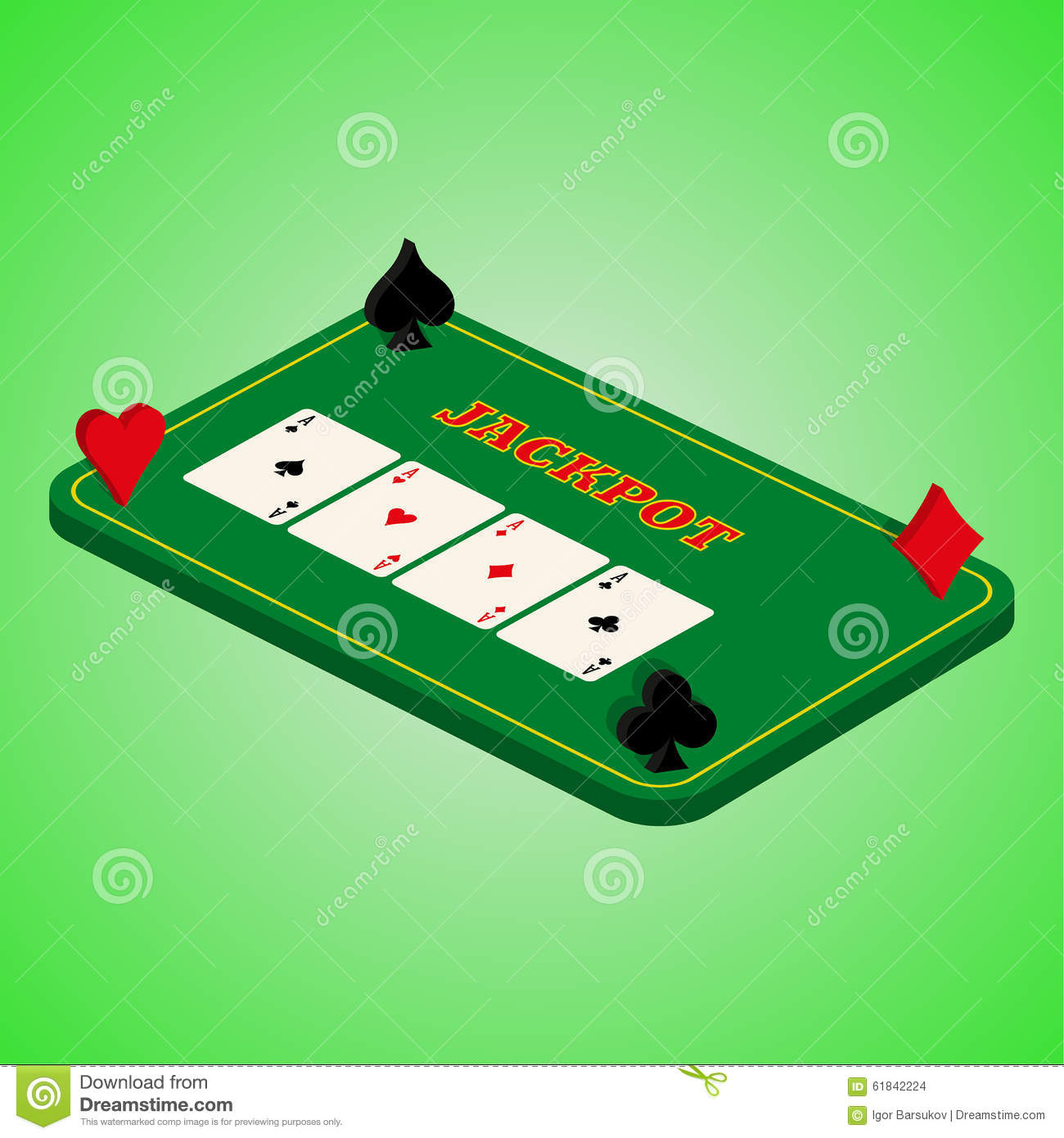 contemporary casino table game design