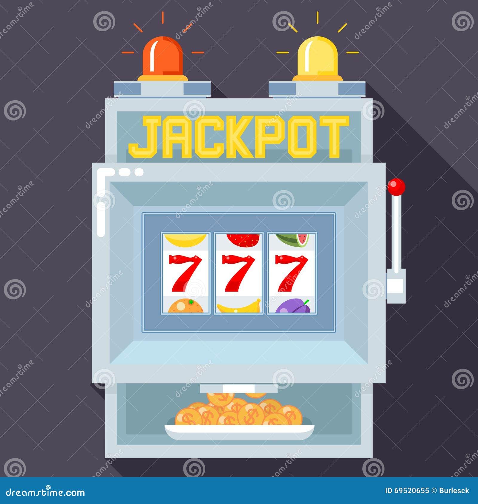 casino slot vector