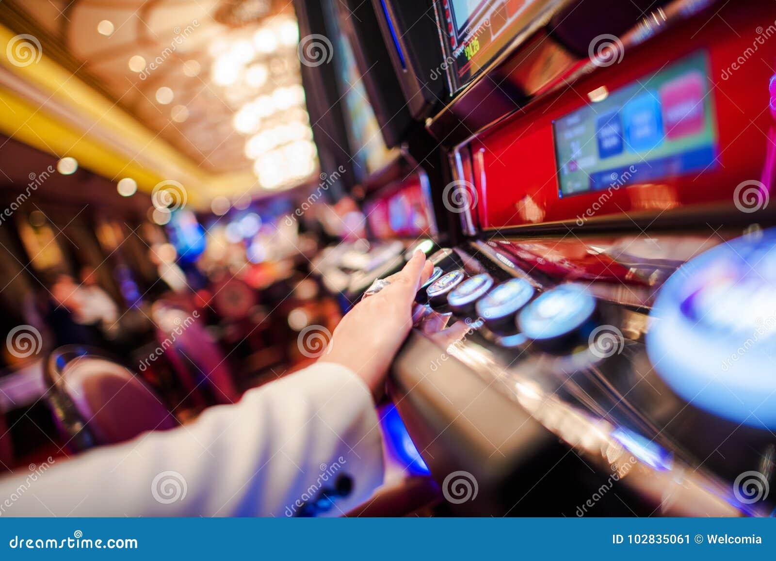 Casino Slot Video Games Stock Image Image Of Bandit 102835061
