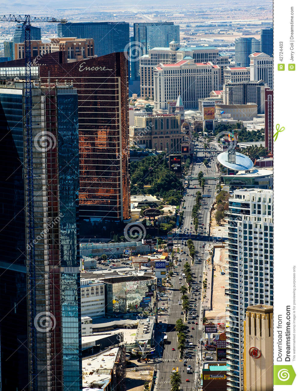 Casinos And Restaurants On The Strip In Las Vegas Nv