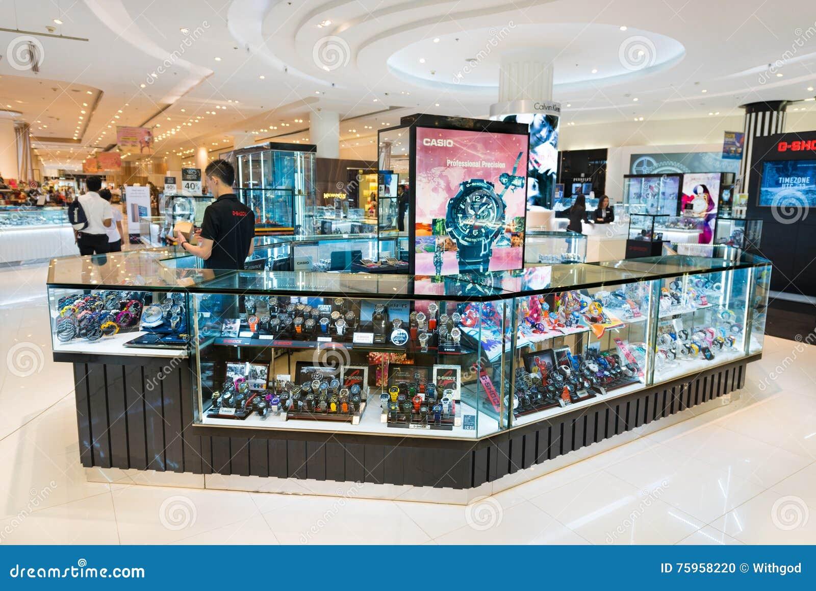 e227d142747 Casio Shop In Siam Paragon Mall
