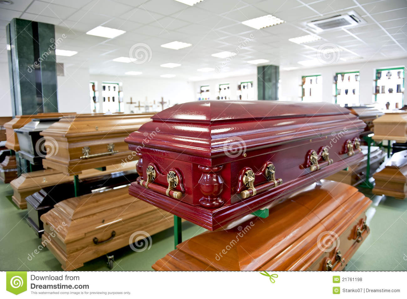 Casket store royalty free stock photos image 21761198