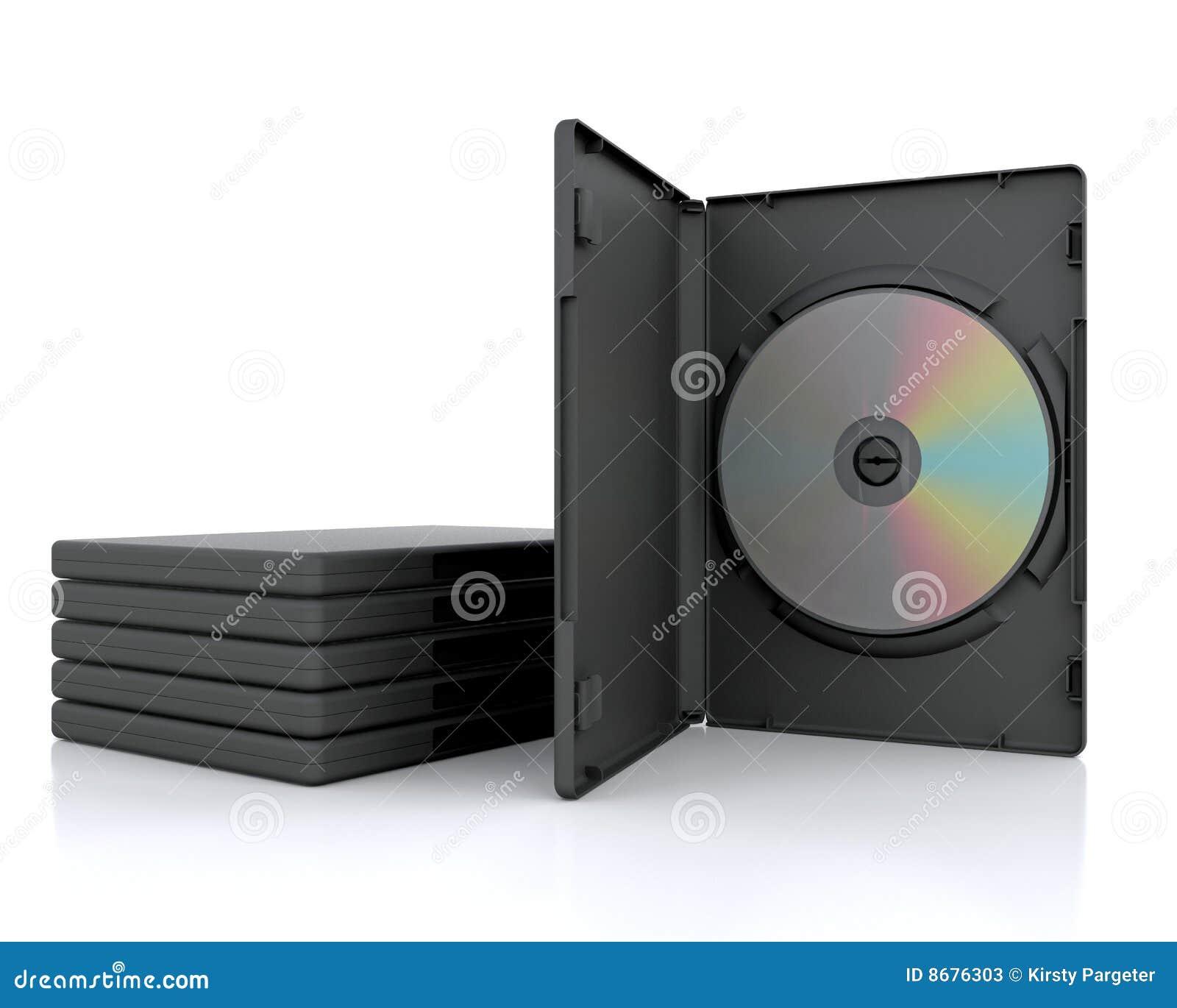 Caso de 3D DVD