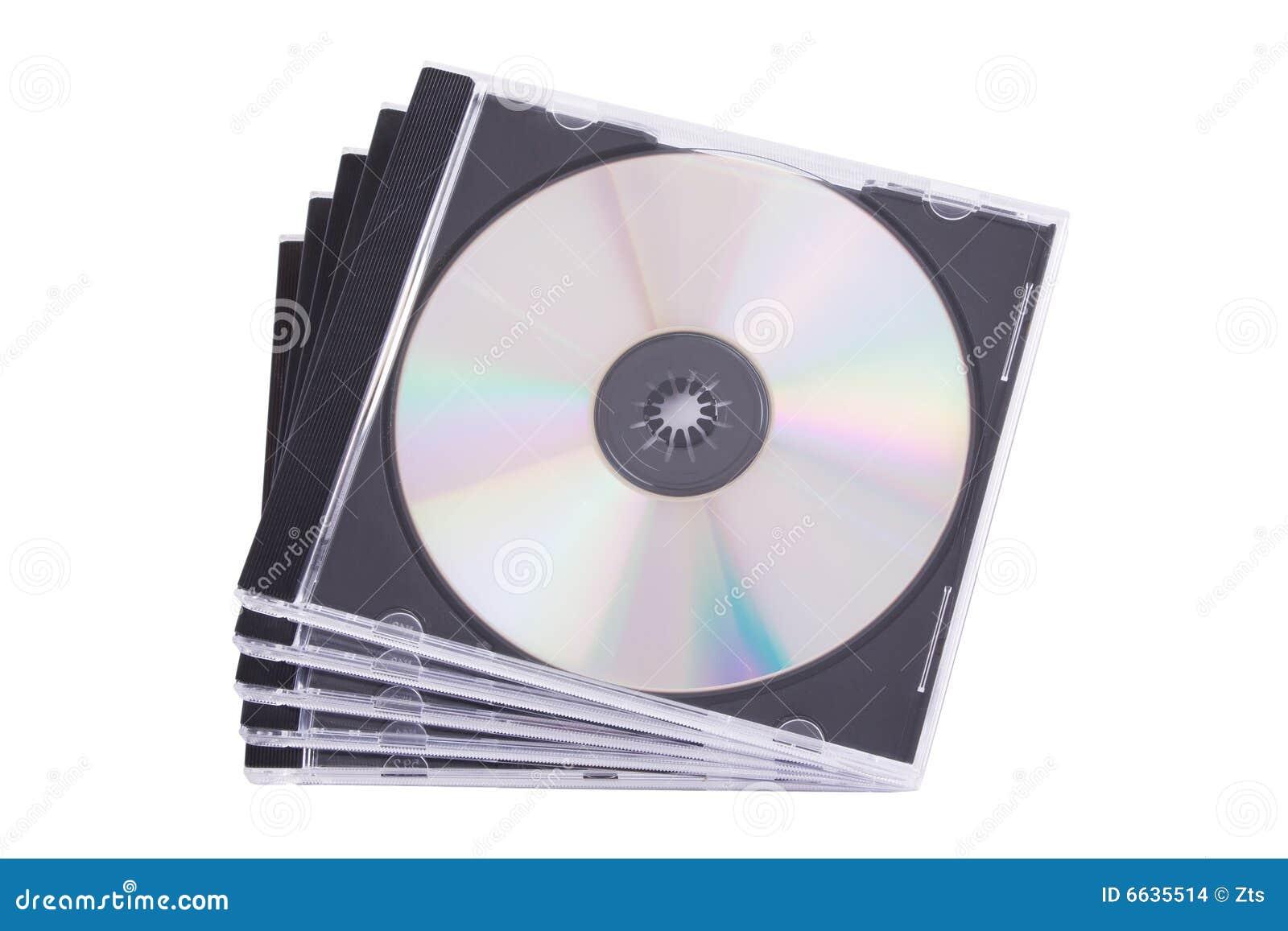 Caso de DVD