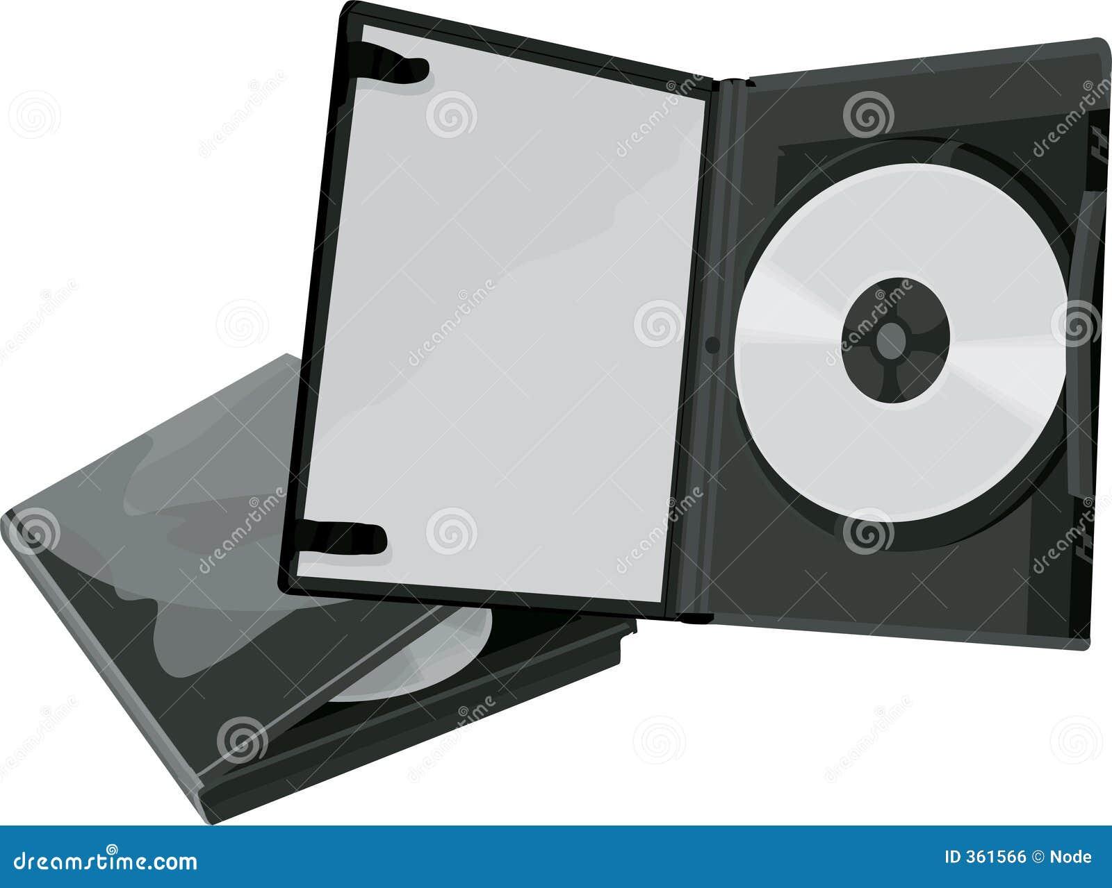 Caso de DVD y DVD