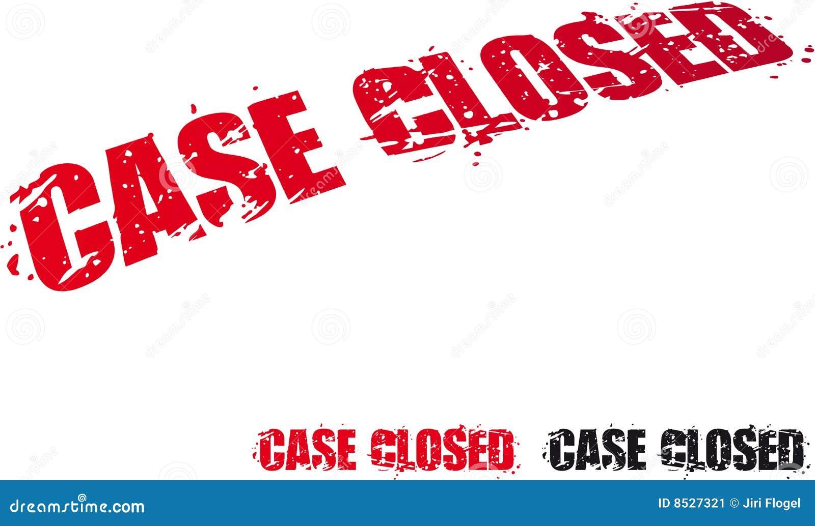 Caso fechado