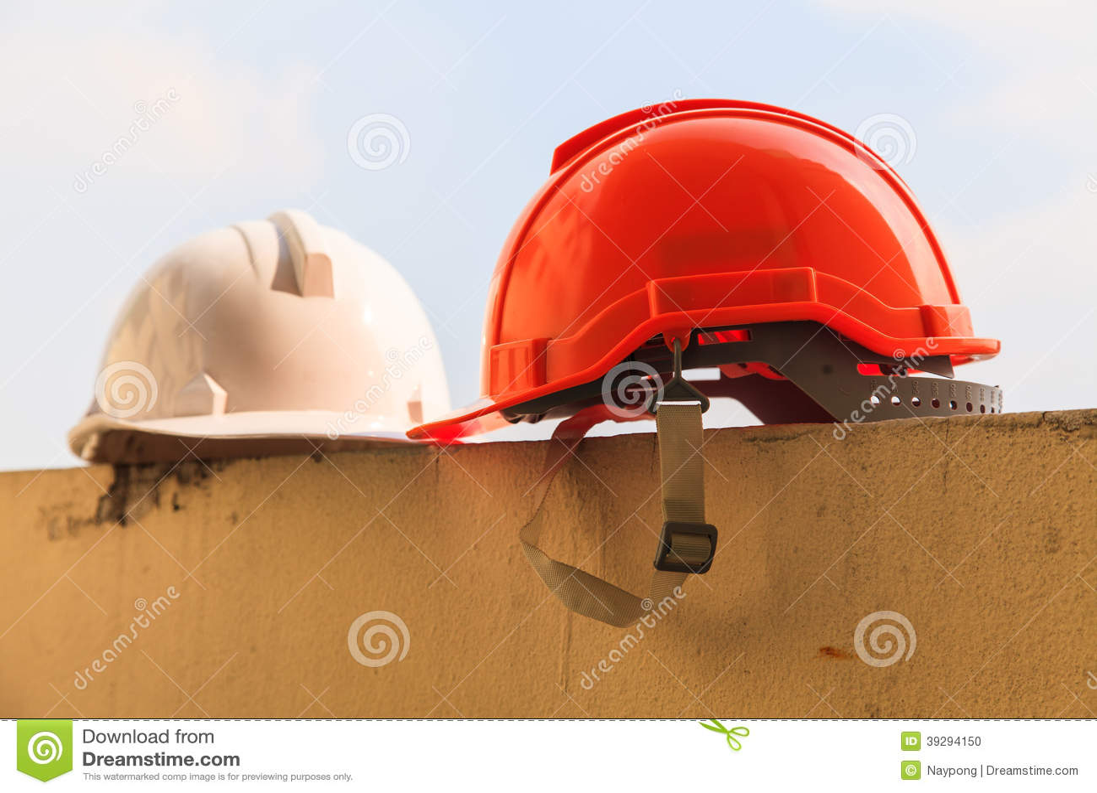 Casque de construction