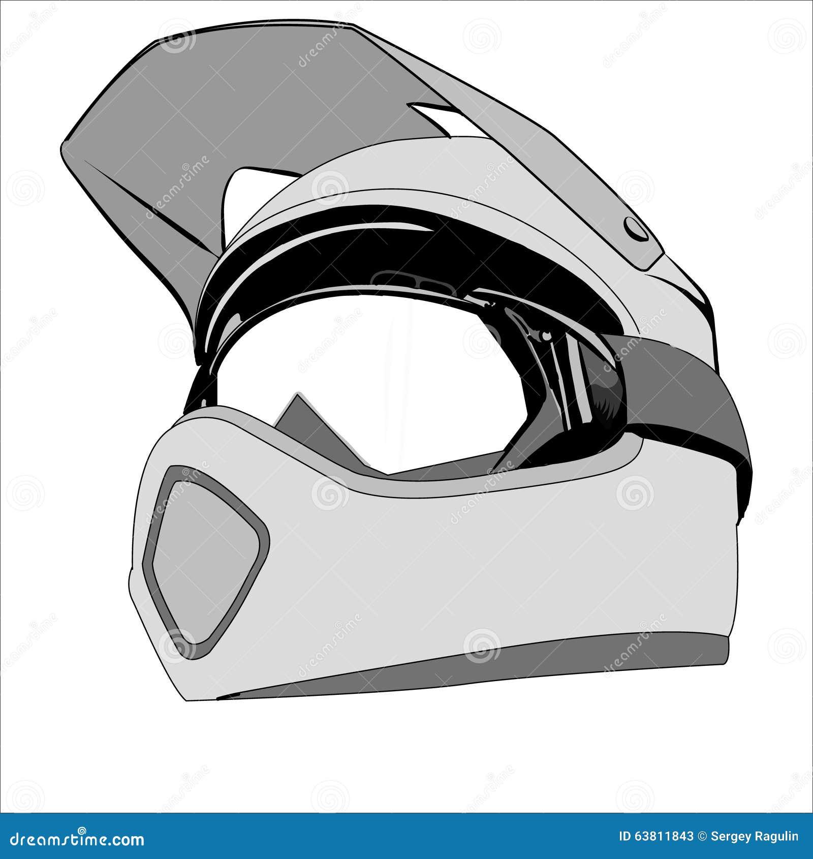 Casque De Dessin Illustration Stock Image 63811843