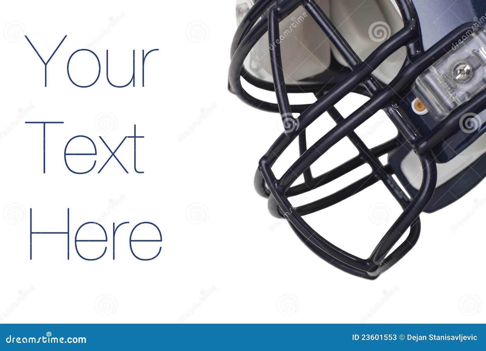 casque de football am ricain photos stock image 23601553. Black Bedroom Furniture Sets. Home Design Ideas