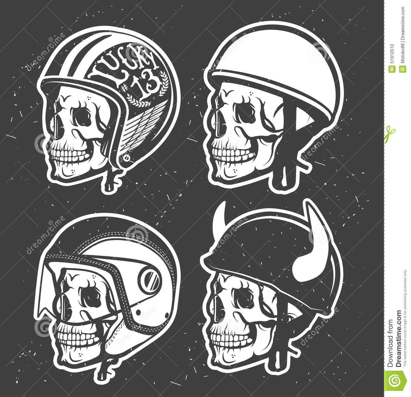Casque de moto illustration de vecteur illustration du - Dessin casque moto ...