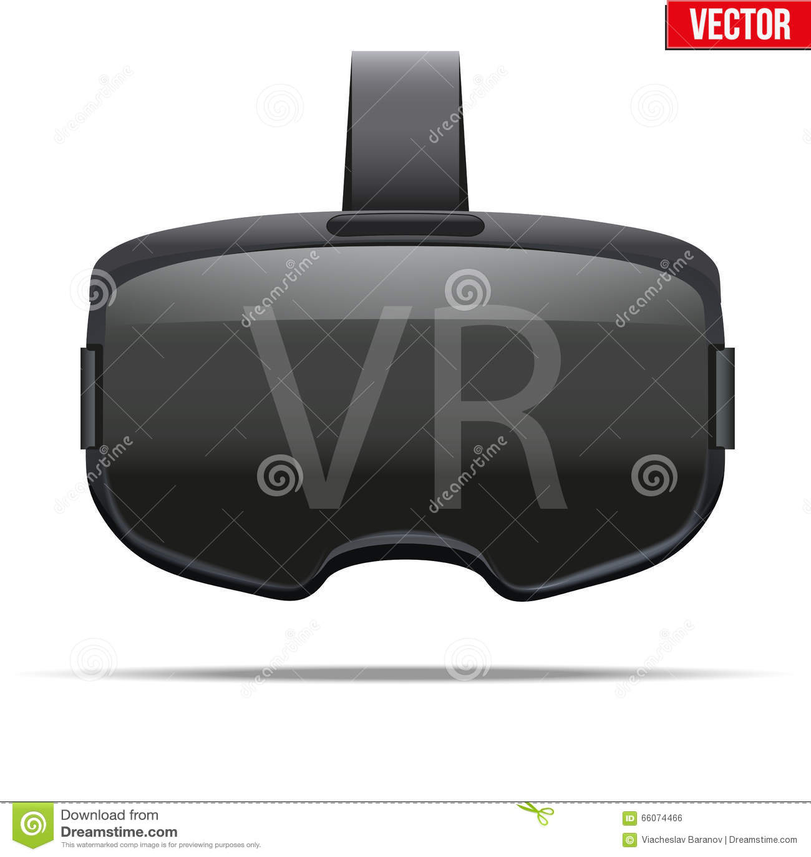 Casque stéréoscopique original de 3d VR