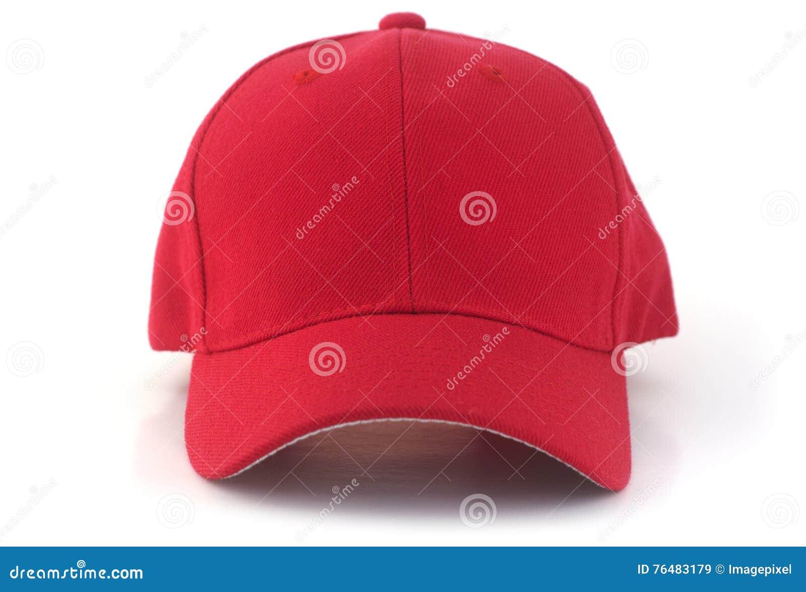 Casquette de baseball rouge