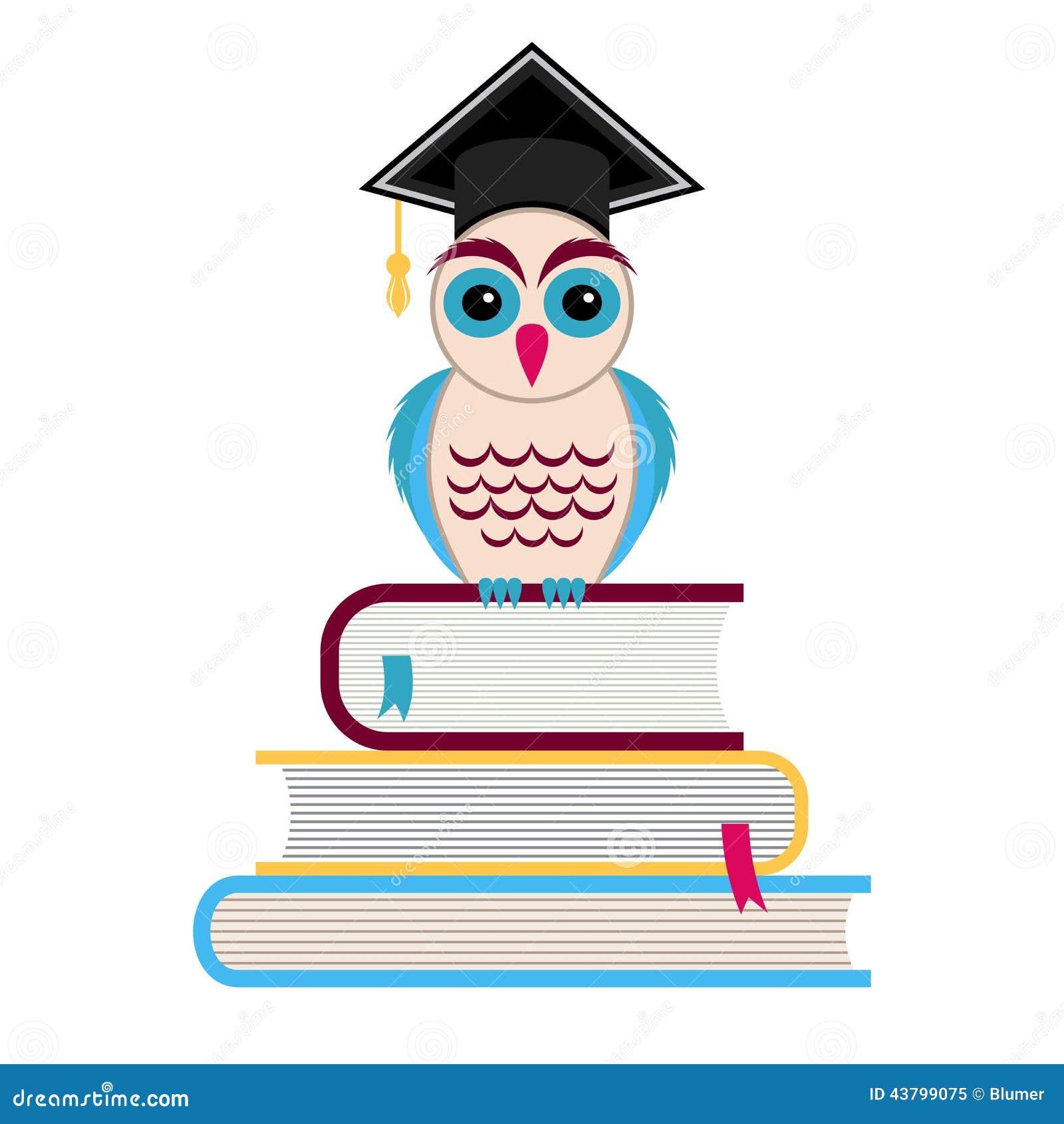 3cda74145d8 Buho de graduación ilustraciones stock vectores clipart – jpg 1300x1390  Mujer dibujos de buhos graduacion
