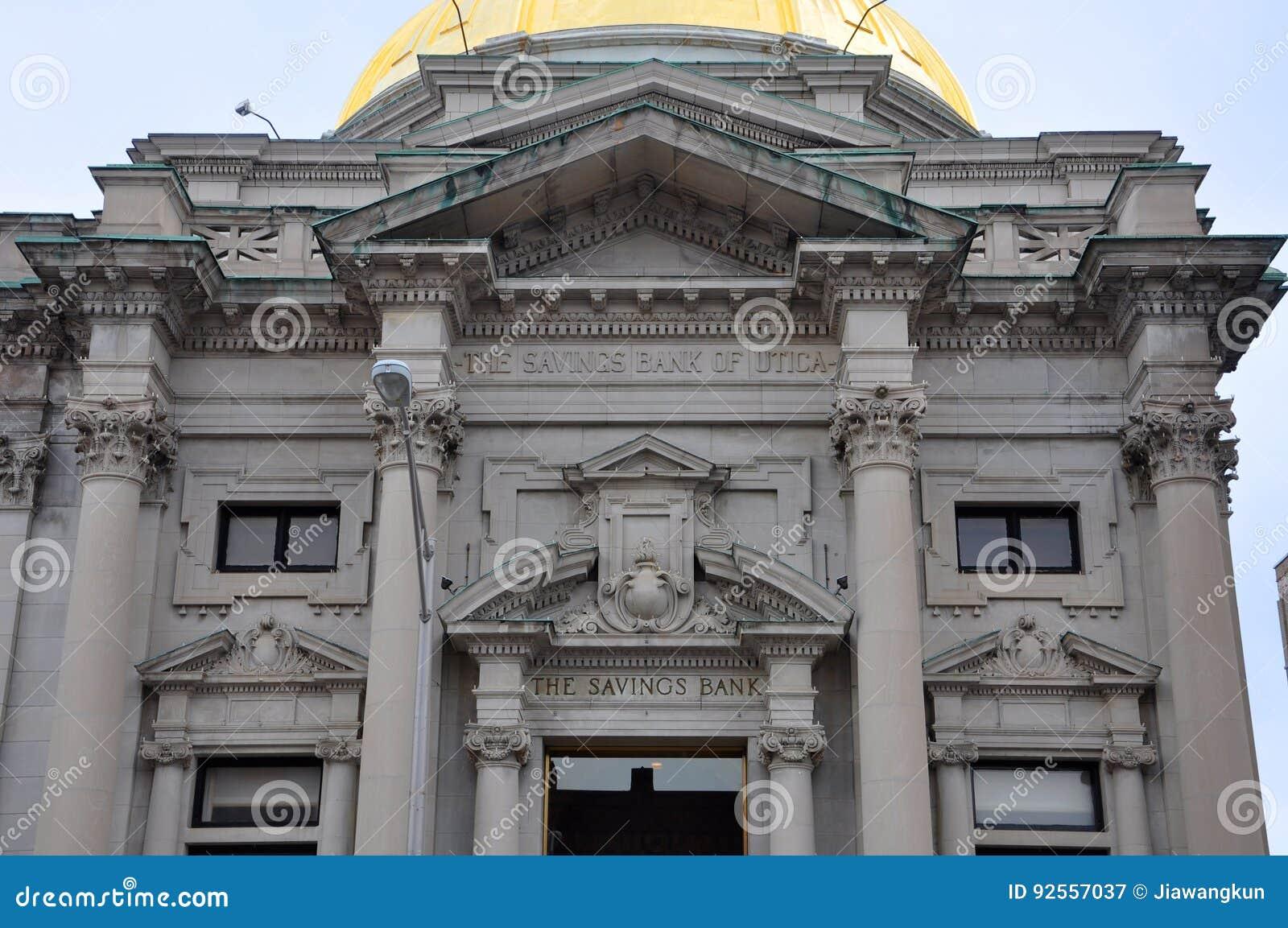 Cassa di risparmio Stato di New York di Utica, Utica, U.S.A.