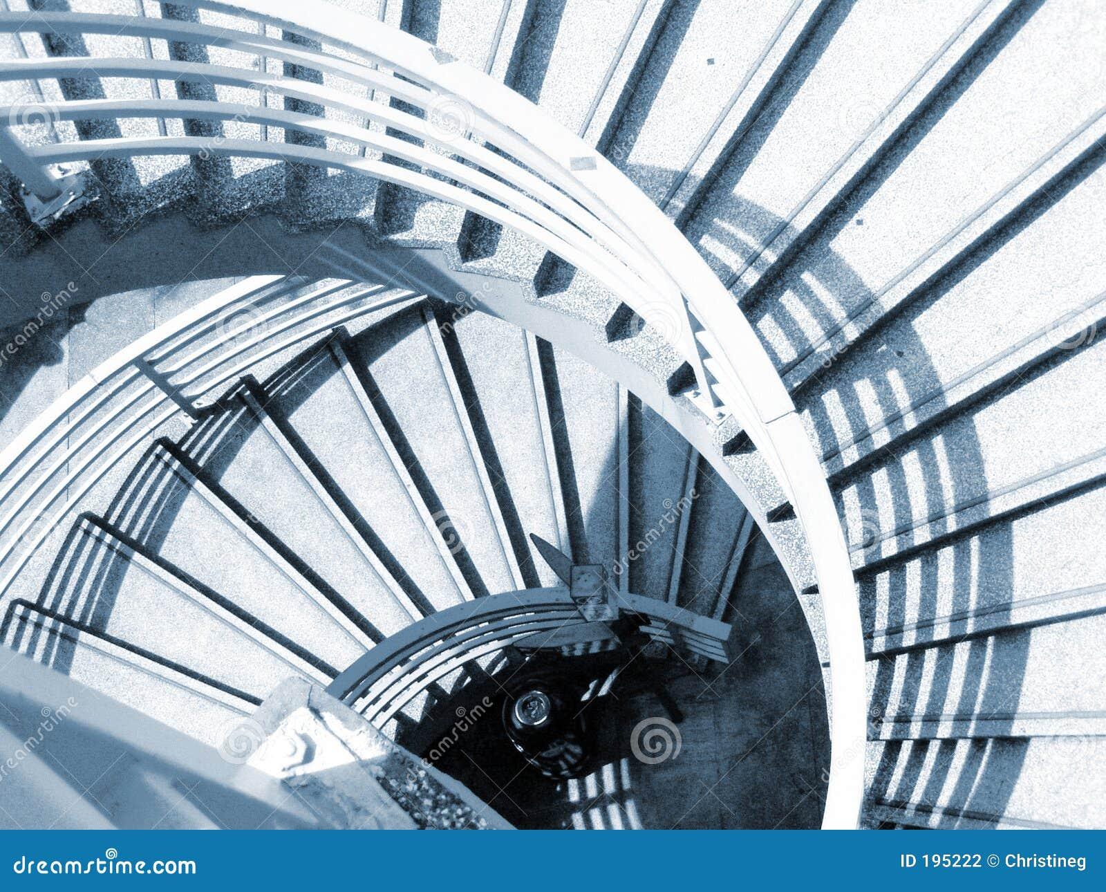 Cassa a spirale della scala