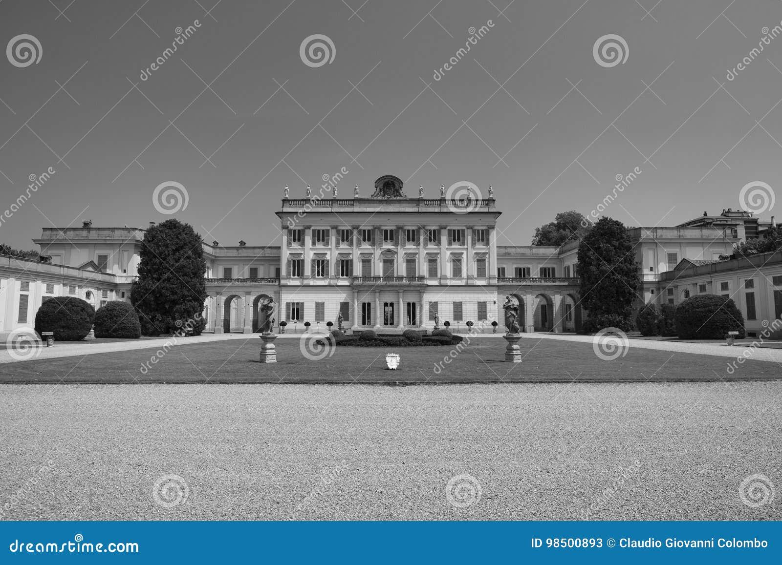 Cassano D`Adda Milan, Italy: Villa Borromeo Stock Image ...