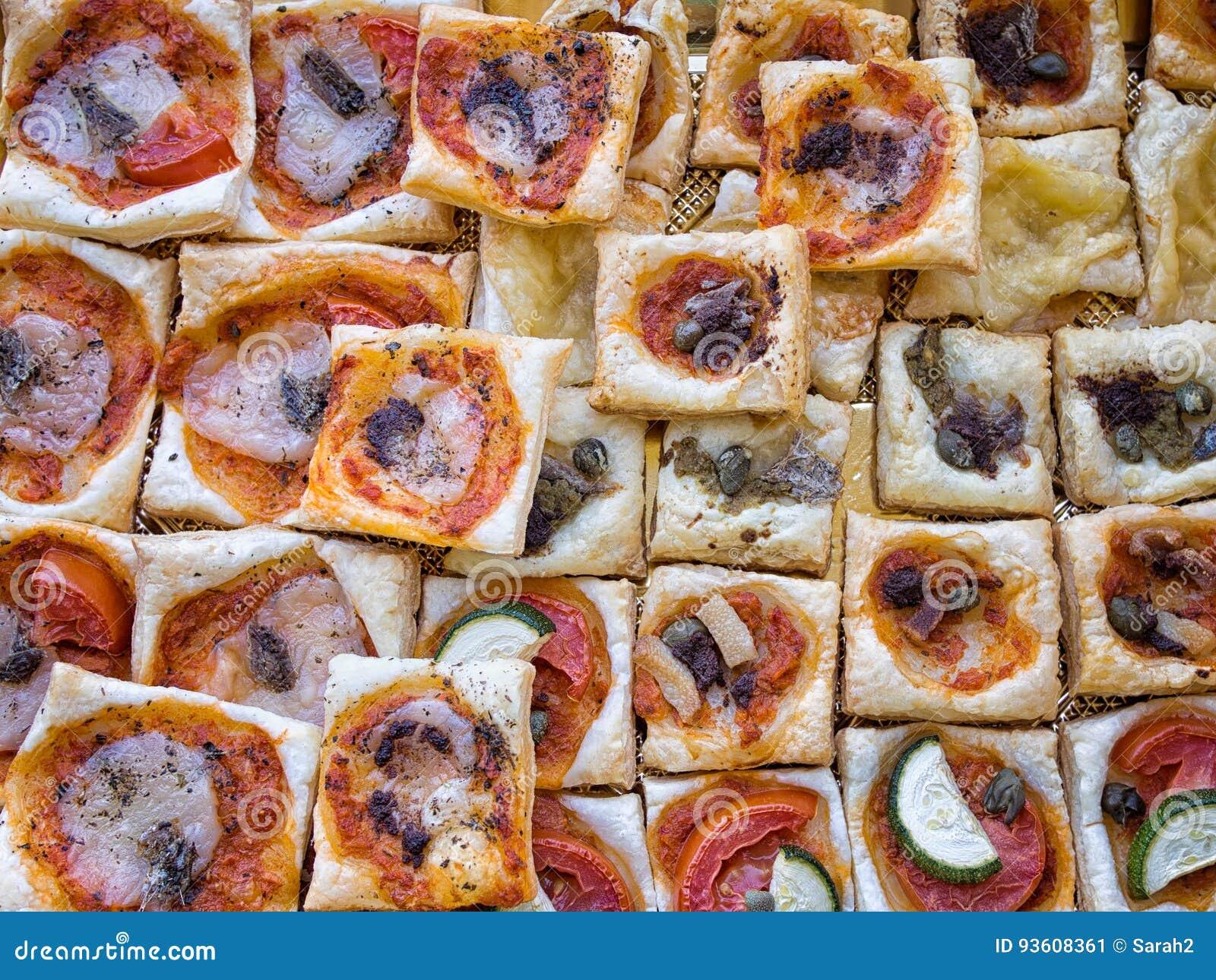 casse-croûte italien de pâte feuilletée, grignotements pour l