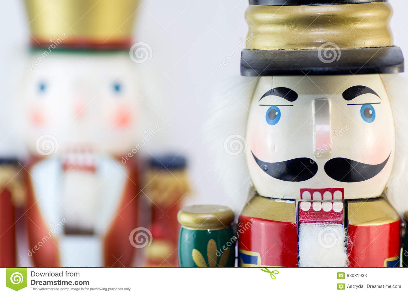 Download Casse-noix de Noël image stock. Image du jouet, chapeau - 63081933