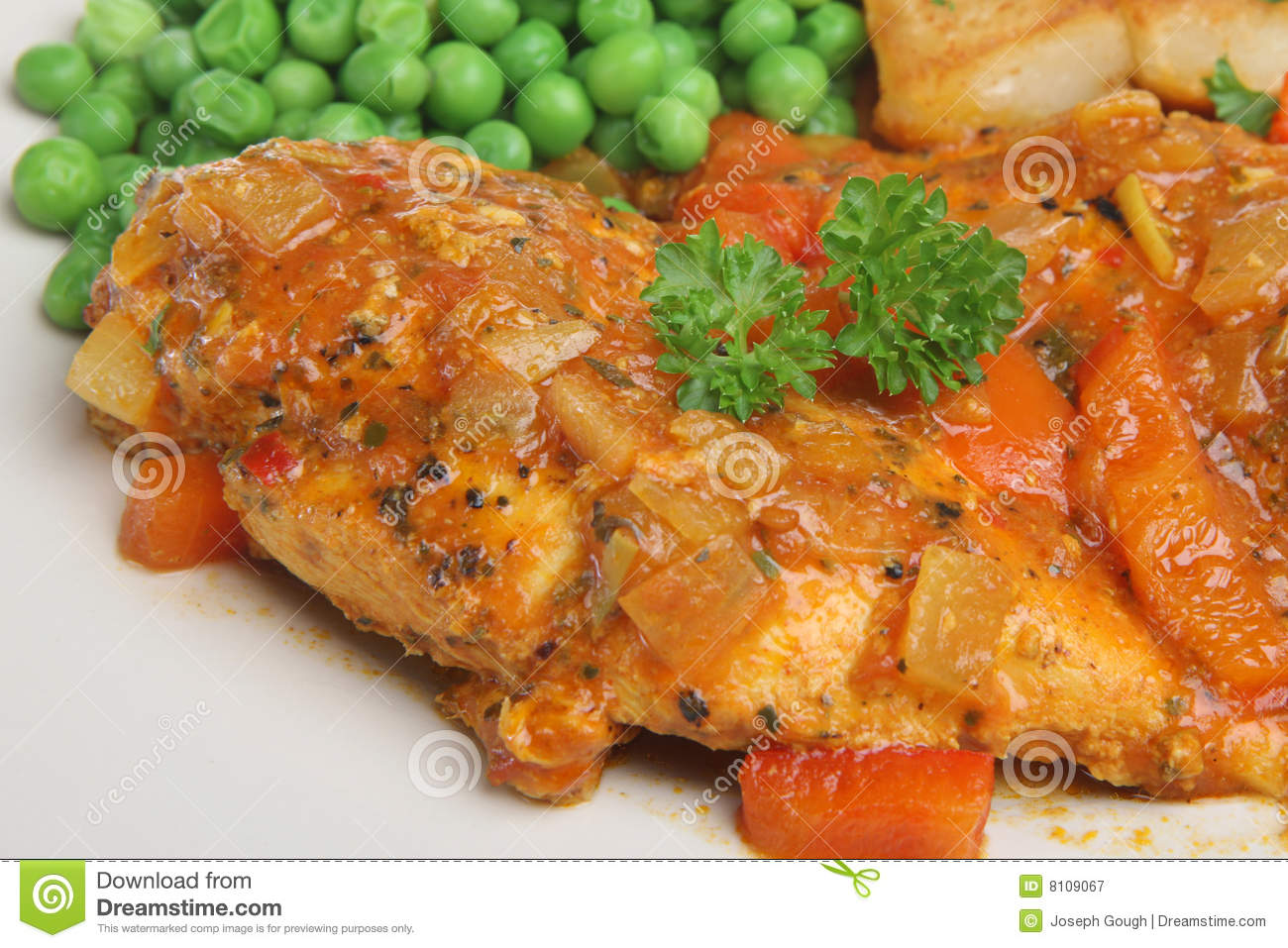 Casseroled Chicken Breast