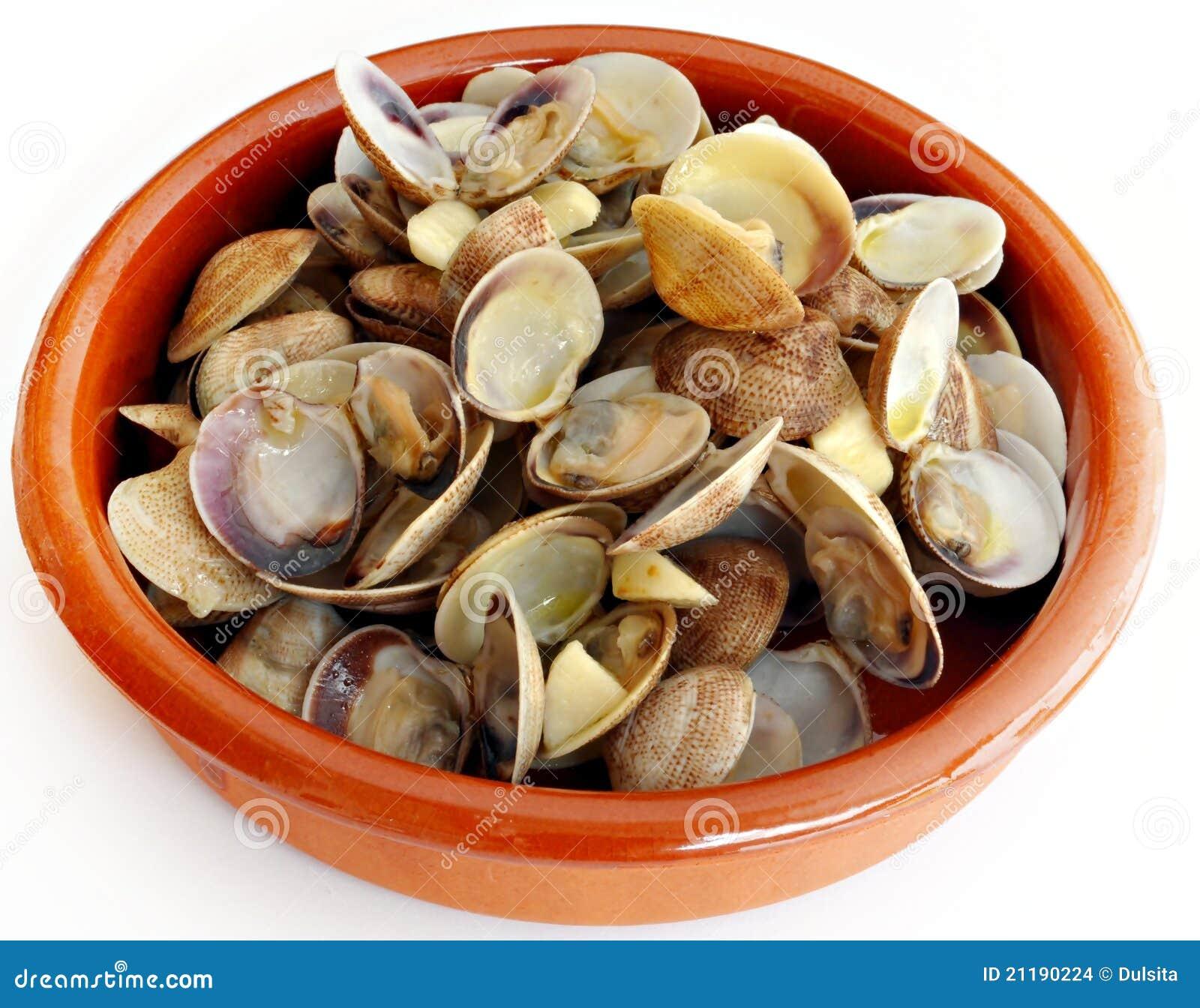 Casseruola con i molluschi
