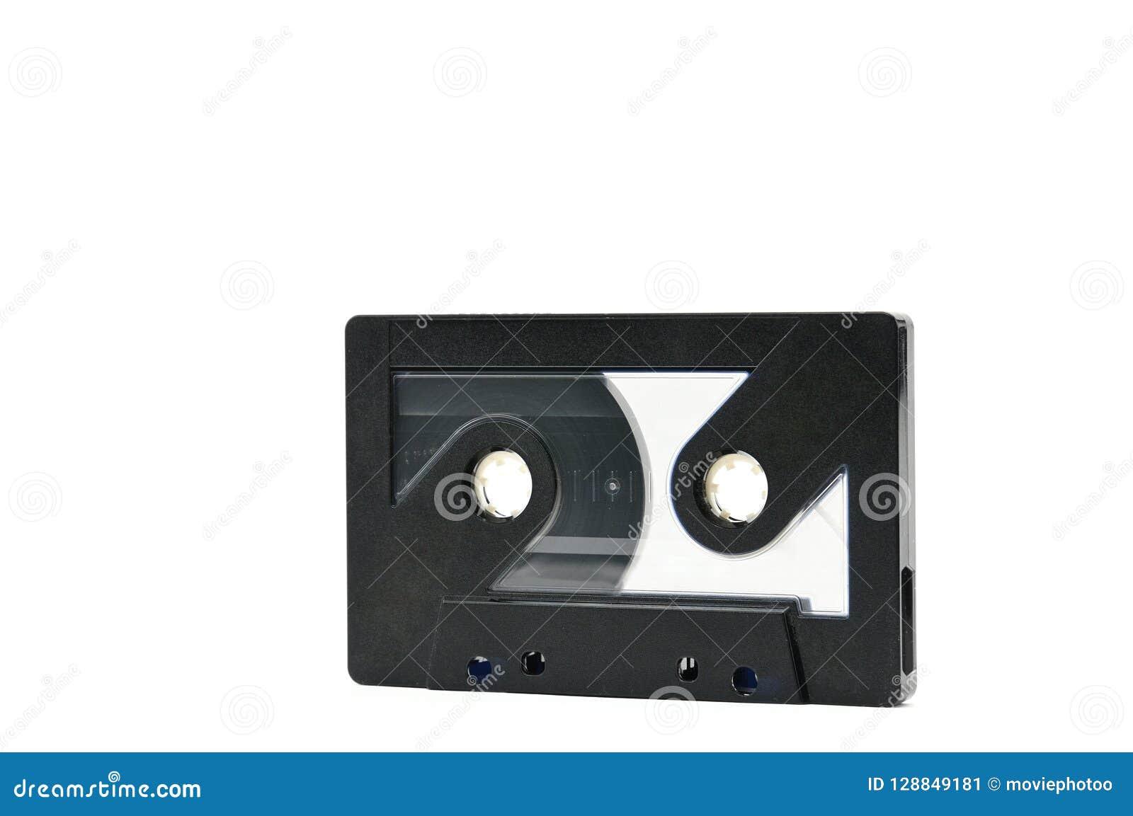 Cassete áudio para gravar anos sadios de 70s 90s