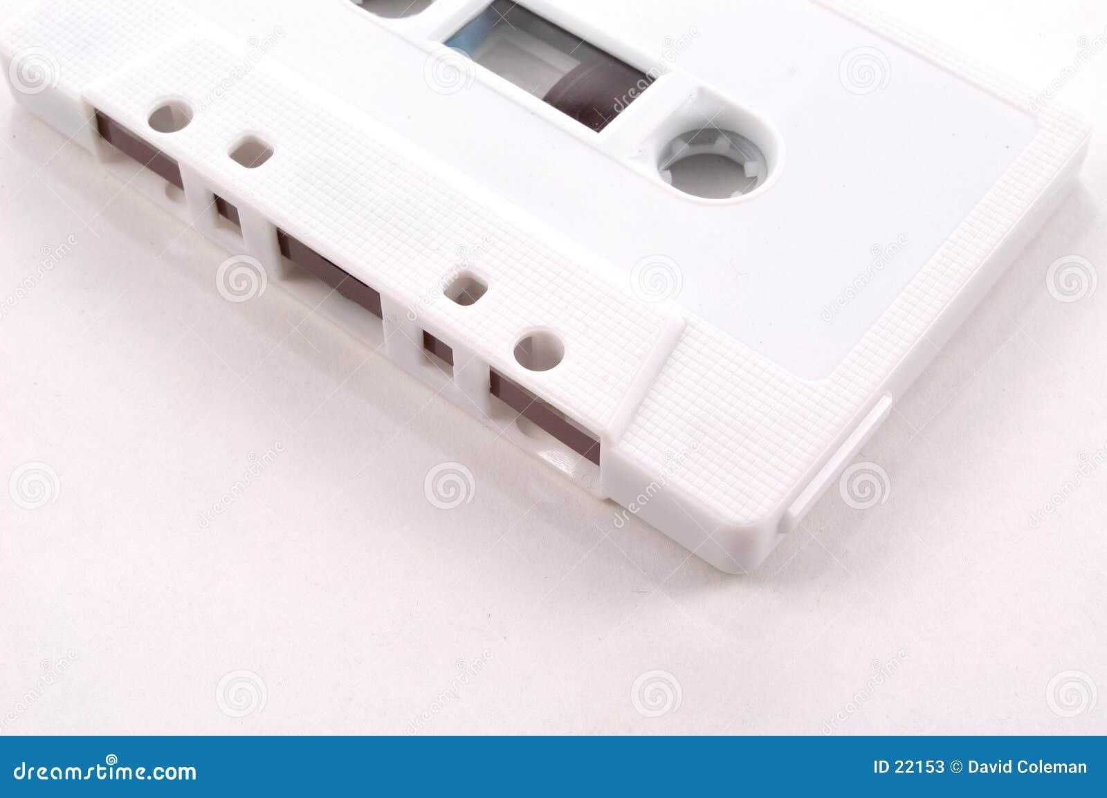 Cassete de banda magnética - vista parcial