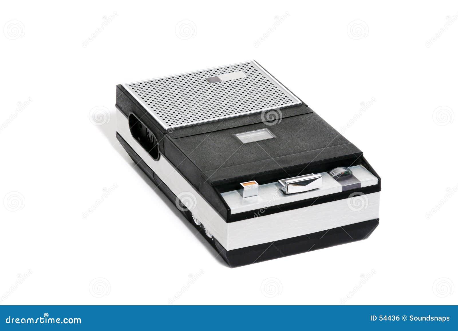 Cassette recorder retro