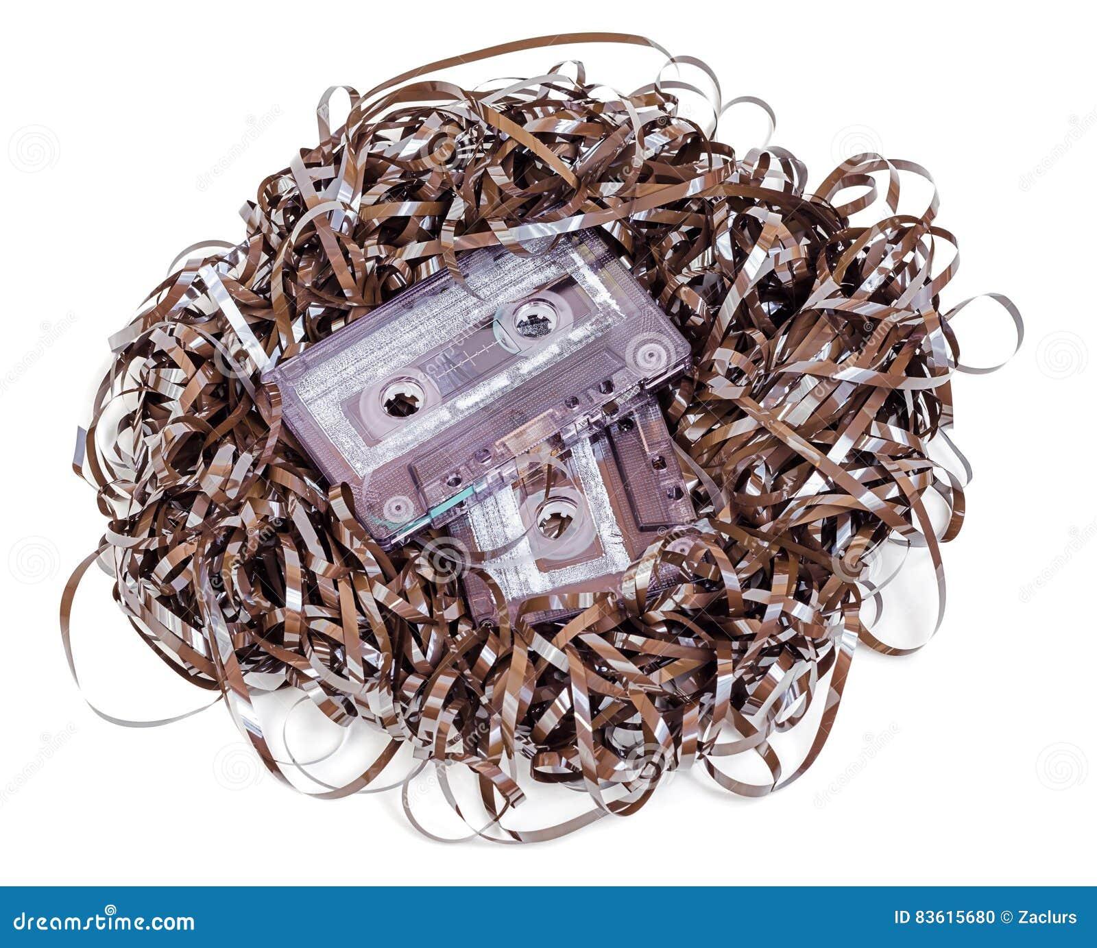 Cassette sonore analogue avec l embrouillement de bande d isolement