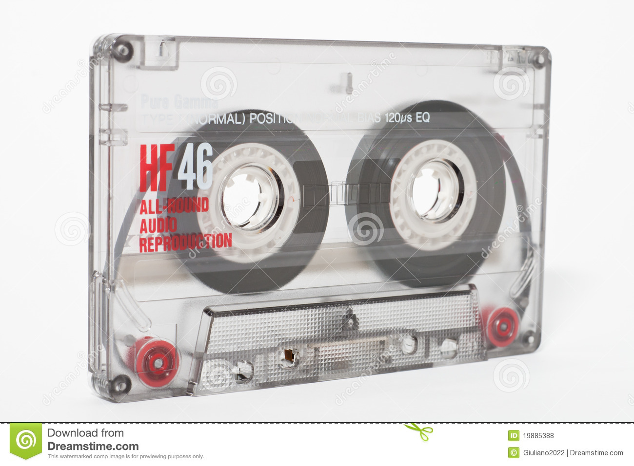 Cassette Tape Royalty Free Stock Photos Image 19885388