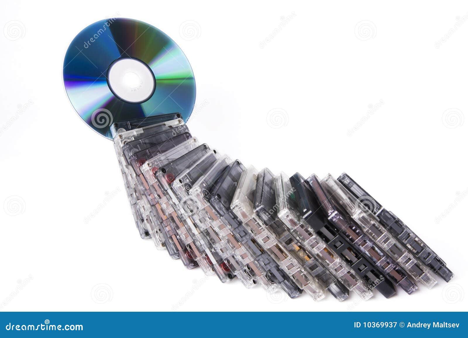 Cassettes con CD