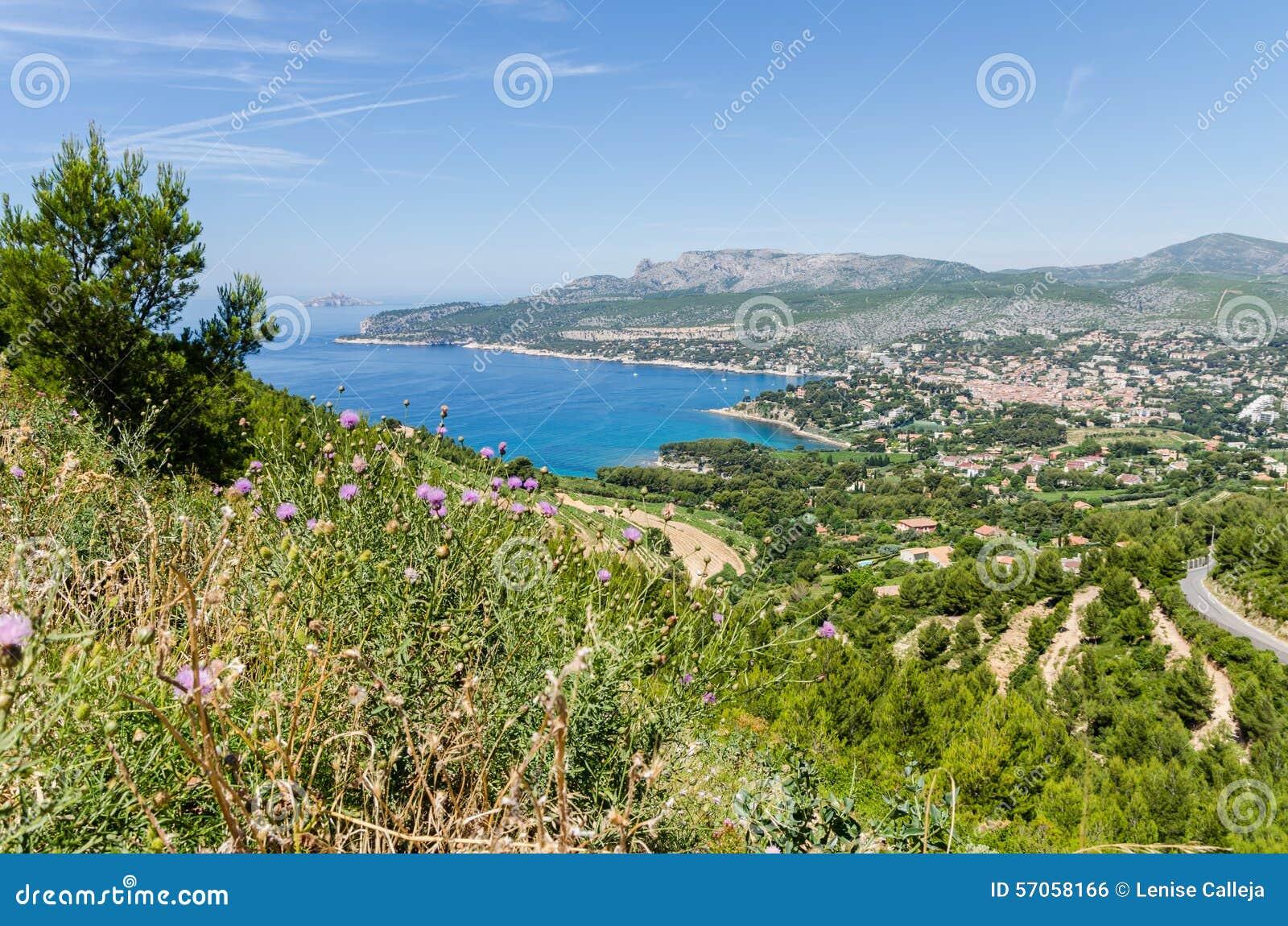 Cassissen in de Provence, Frankrijk