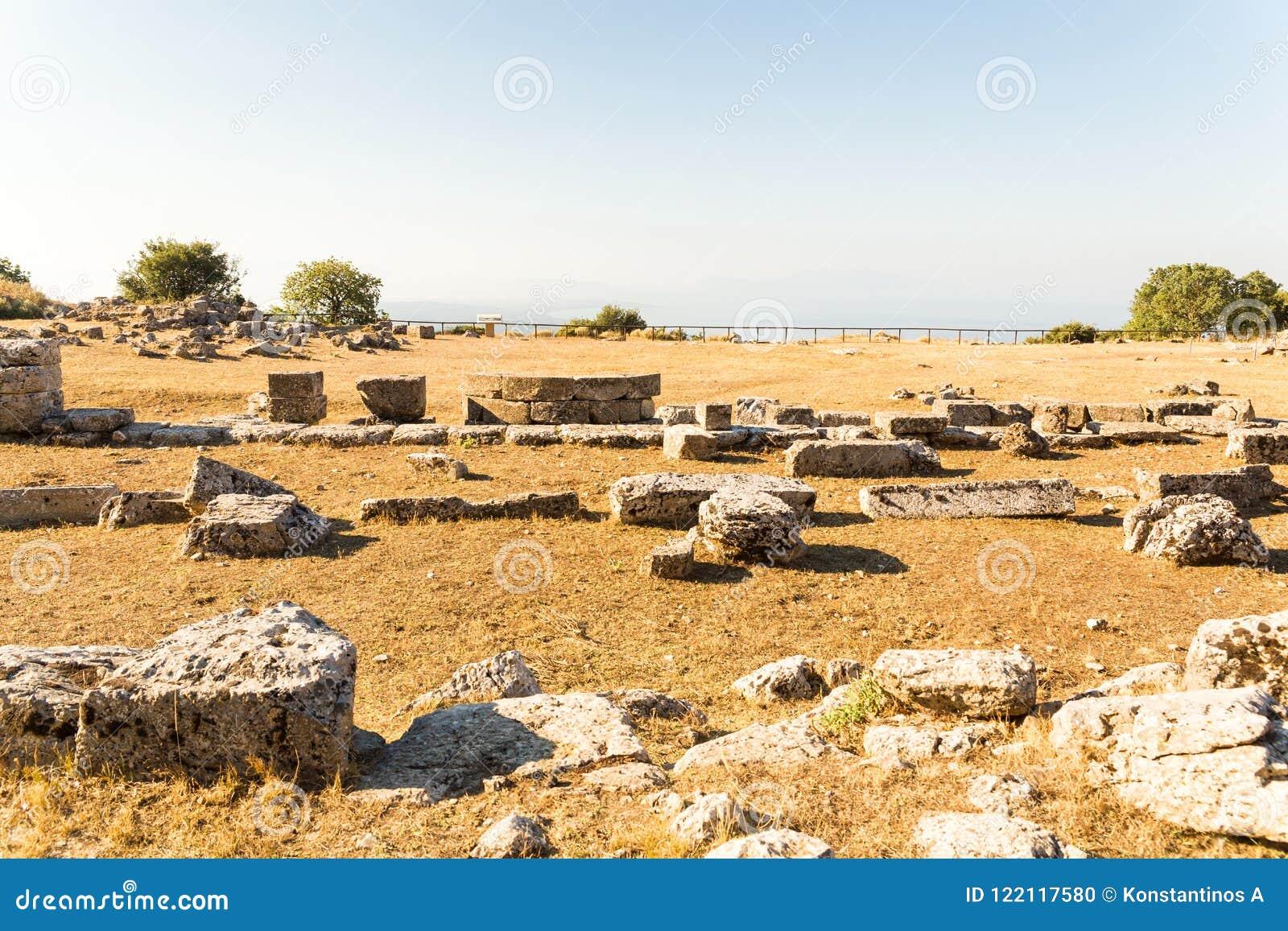 Cassope antico nel kamarina del villaggio perfecture gree for Villaggio kamarina