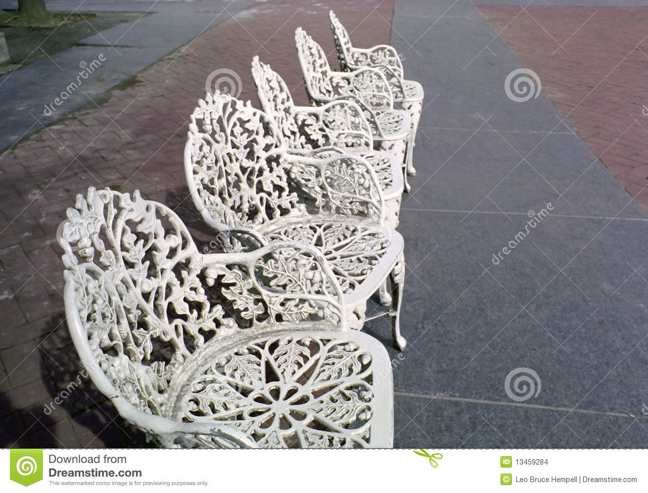 Royalty Free Stock Photo. Download Cast Iron Patio Chairs ... Part 85