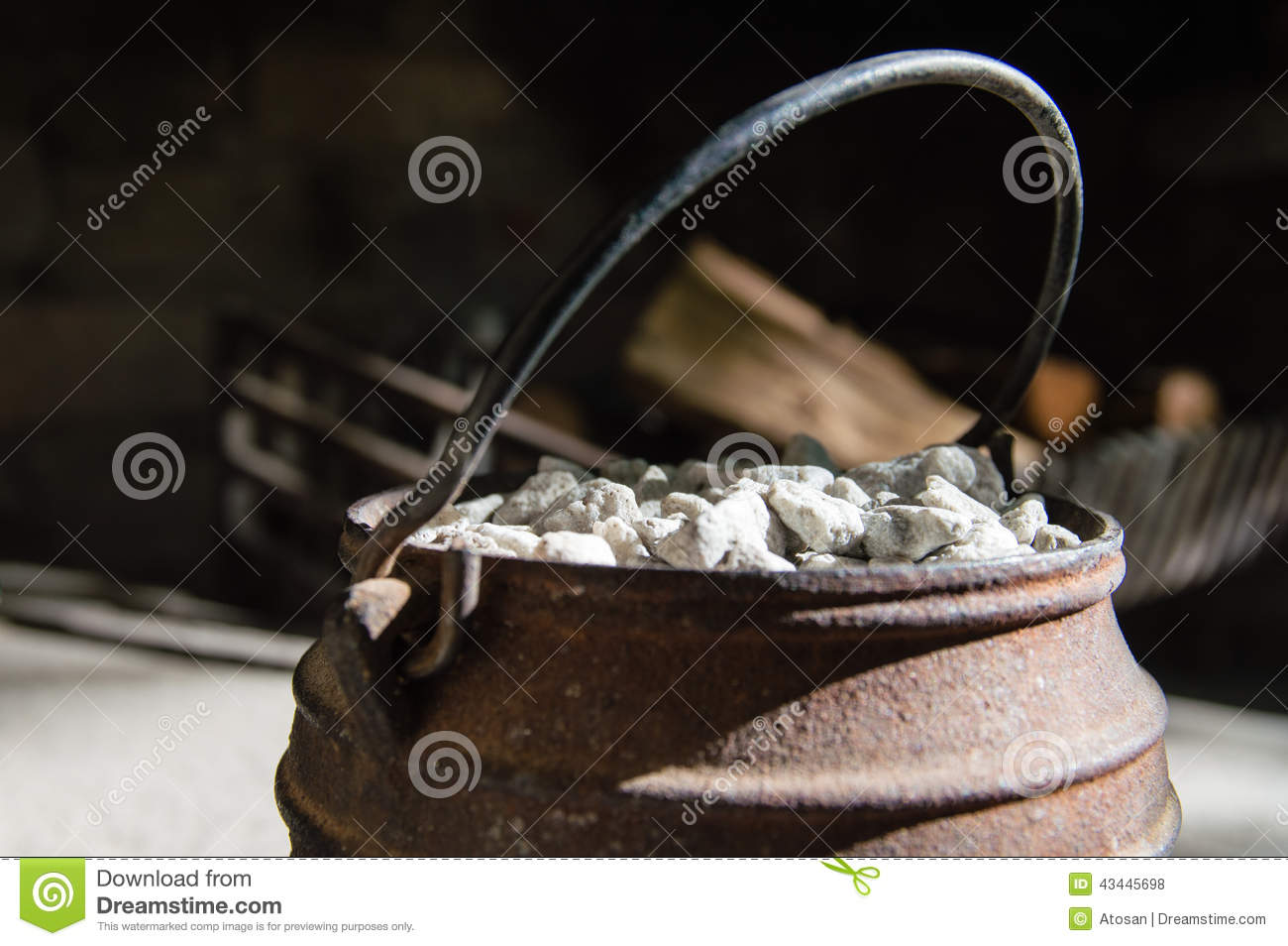Cast Iron Pot Stock Photo Image Of Natal Kwazulu Craft