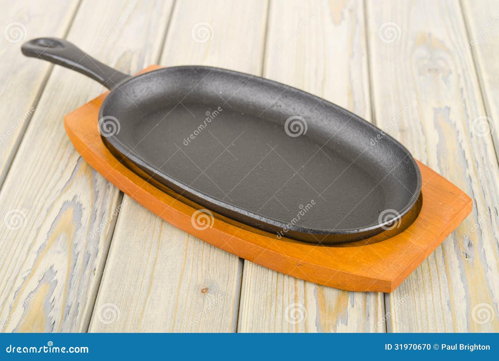 Cast Iron Sizzle Platter Stock Photo Image 31970670