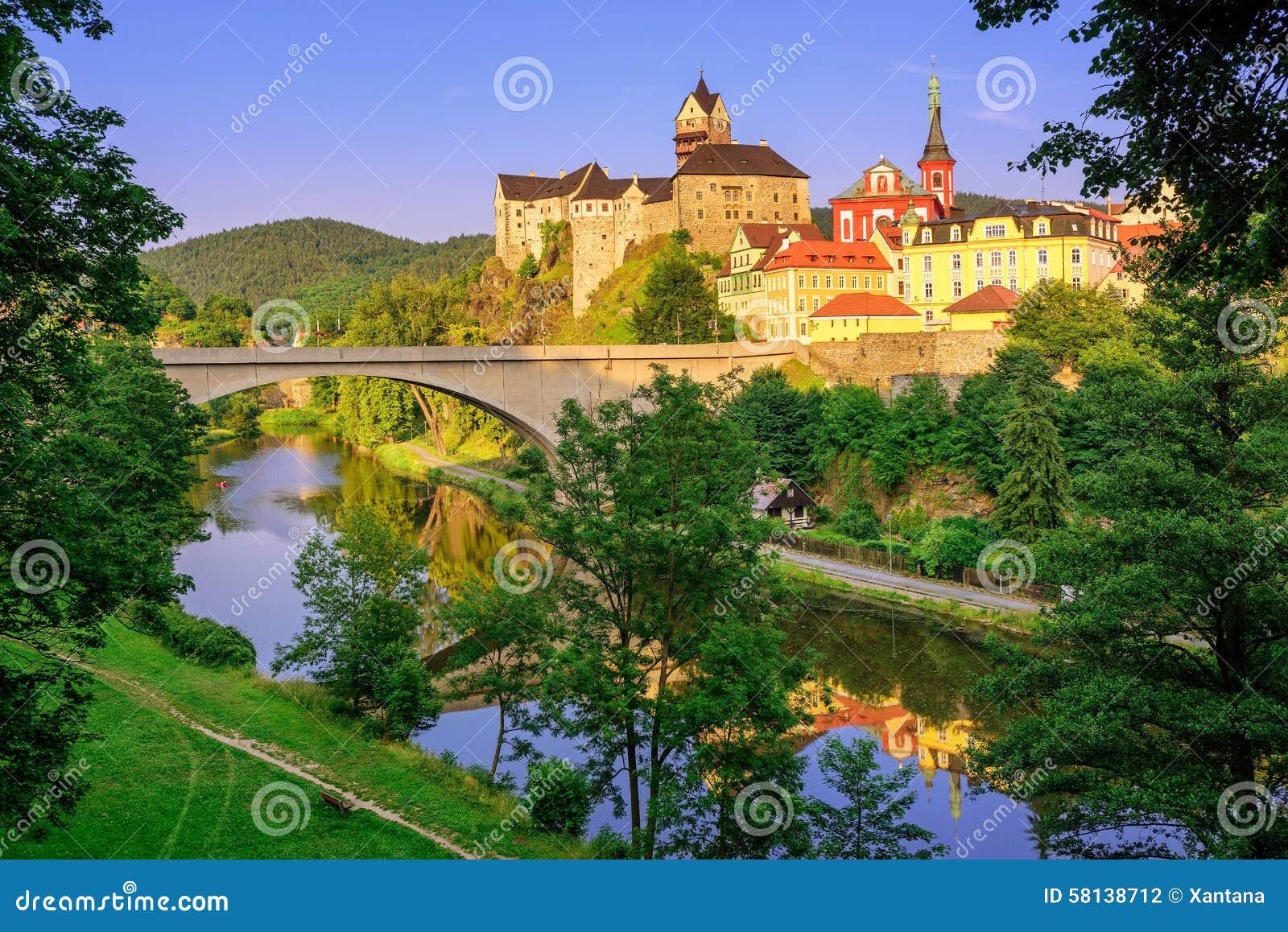 Caste de Loket, République Tchèque