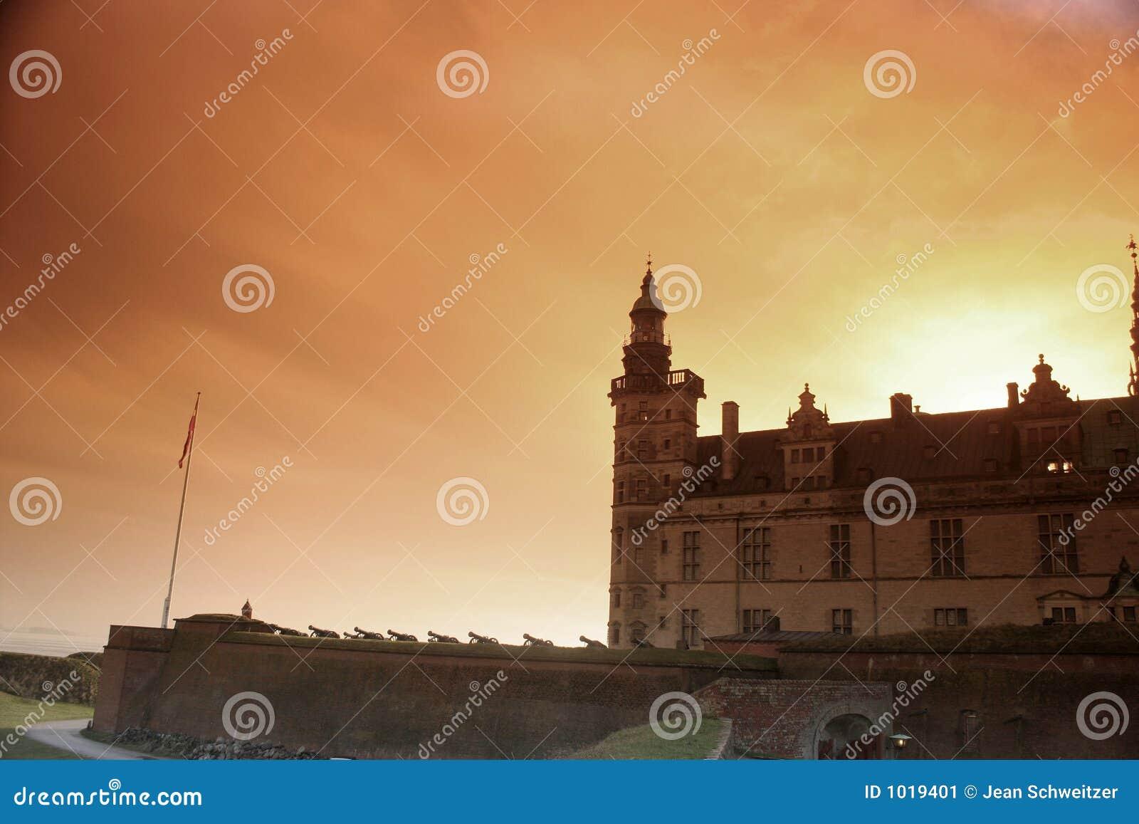 Castel de Kronborg, silueta