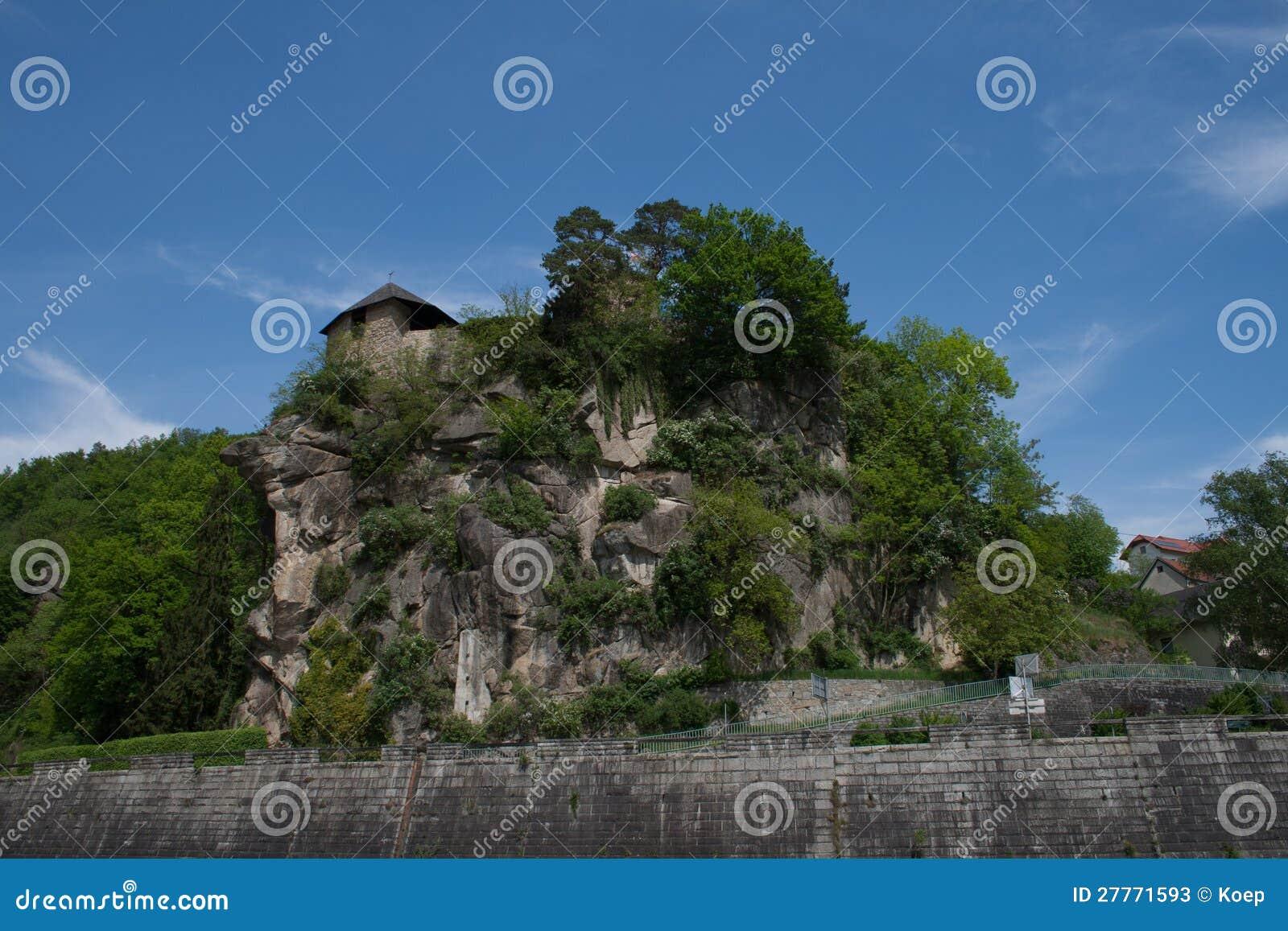 Castel de Werfenstein été perché en fonction
