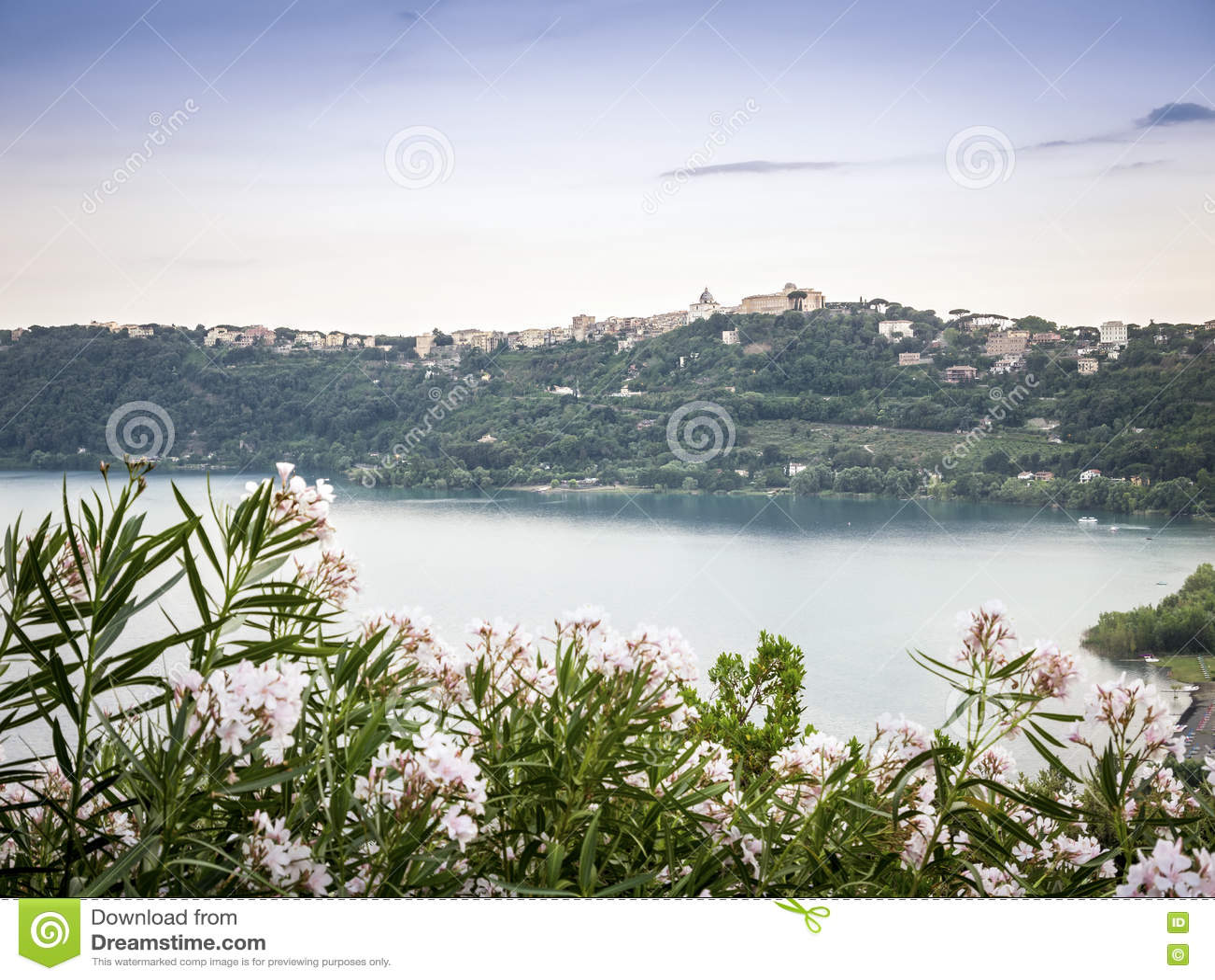 Castel Gandolfo et Albano Lake, Italie