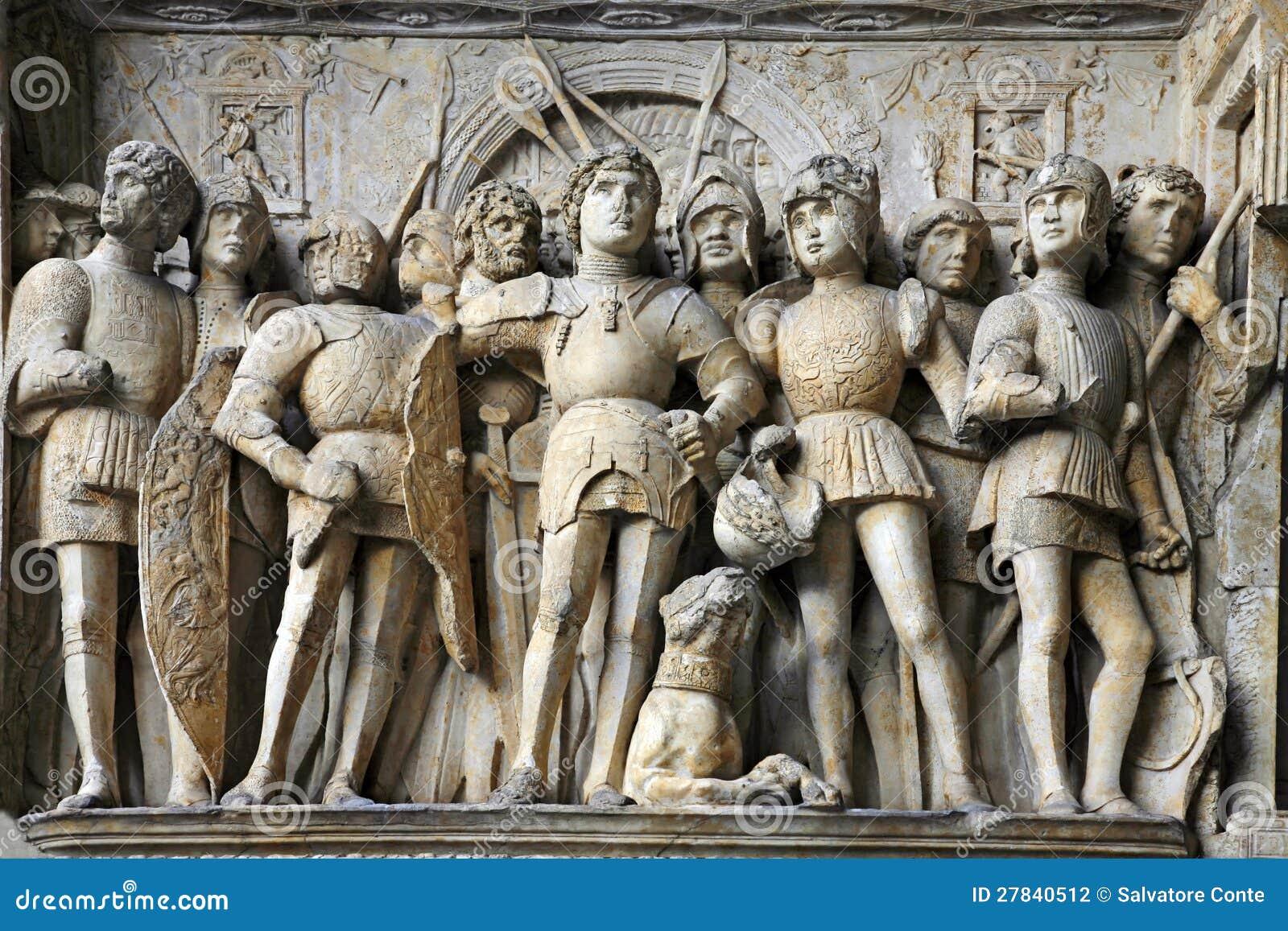 Castel Nuovo detail - Maschio Angioino - Naples