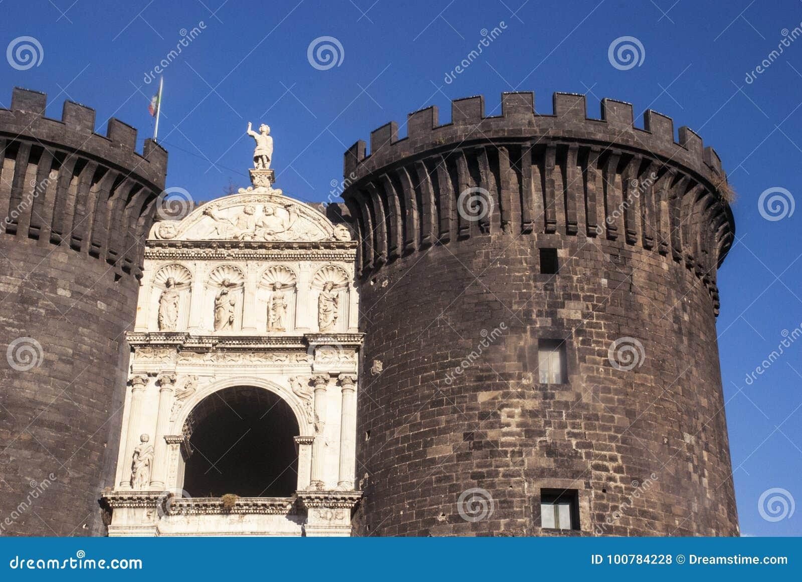Castel Nuovo New Castle, Naples, Italie