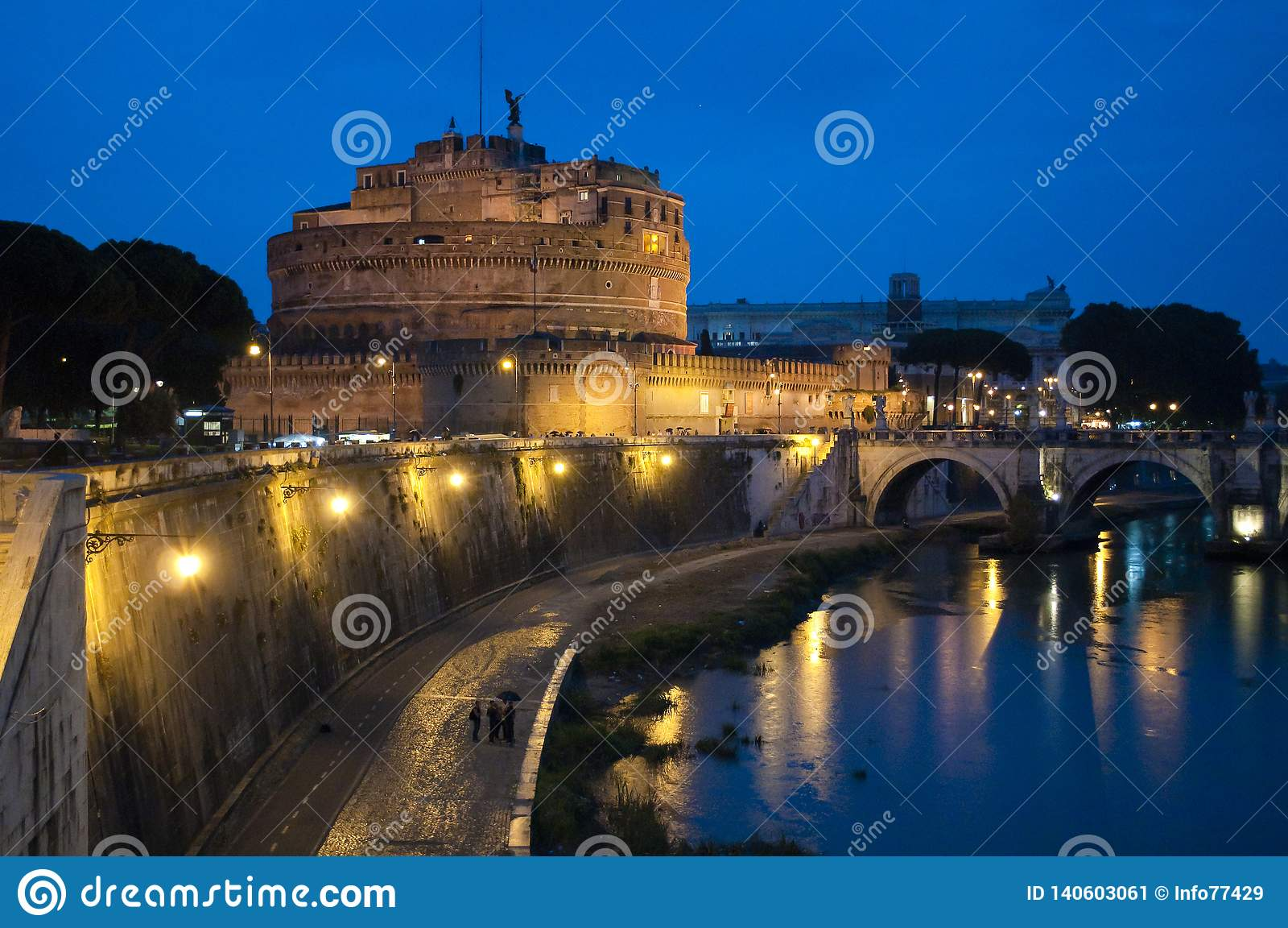 "Castel Sant ""Angelo ή μαυσωλείο του Αδριανού, Ρώμη, Ιταλία"