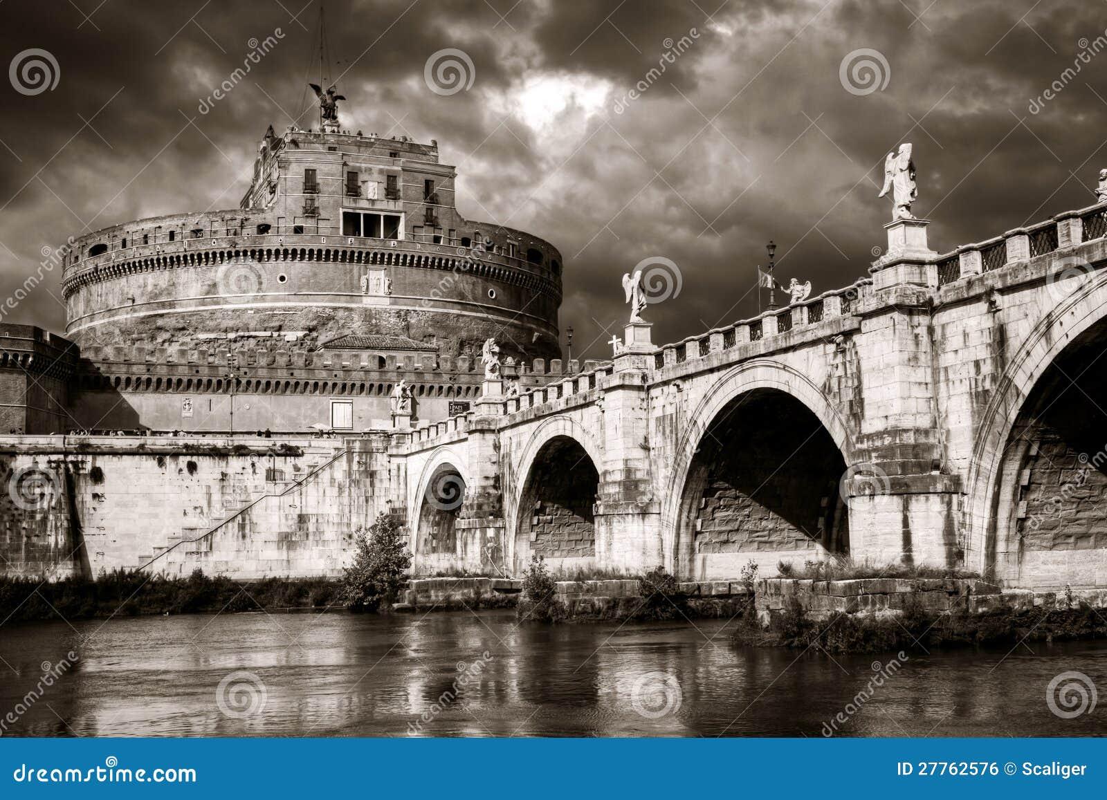 Castel sant 39 angelo roma fotografia stock immagine di for Europeo arredamenti mosciano sant angelo