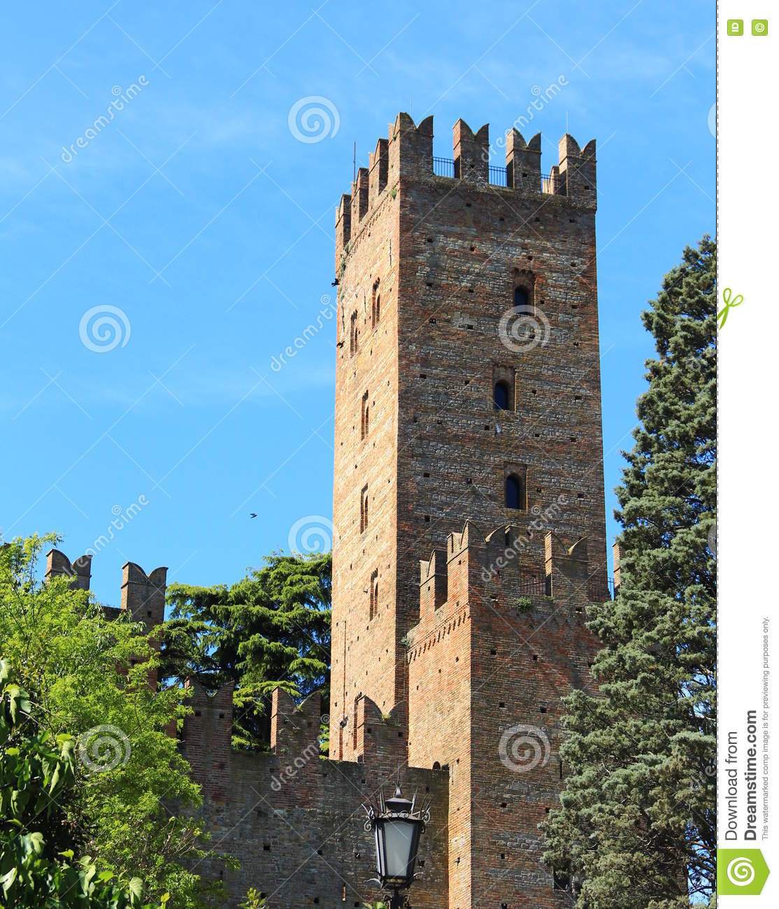 Castell'Arquato, a medieval village in northern Italy