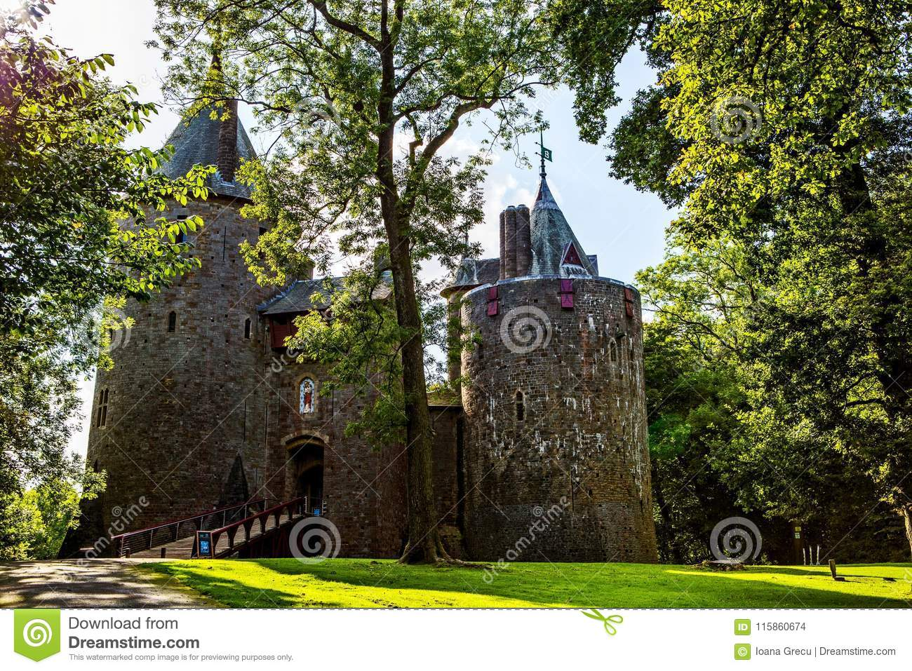 Castell Coch, Red Castle, Tongwynlais, South Wales